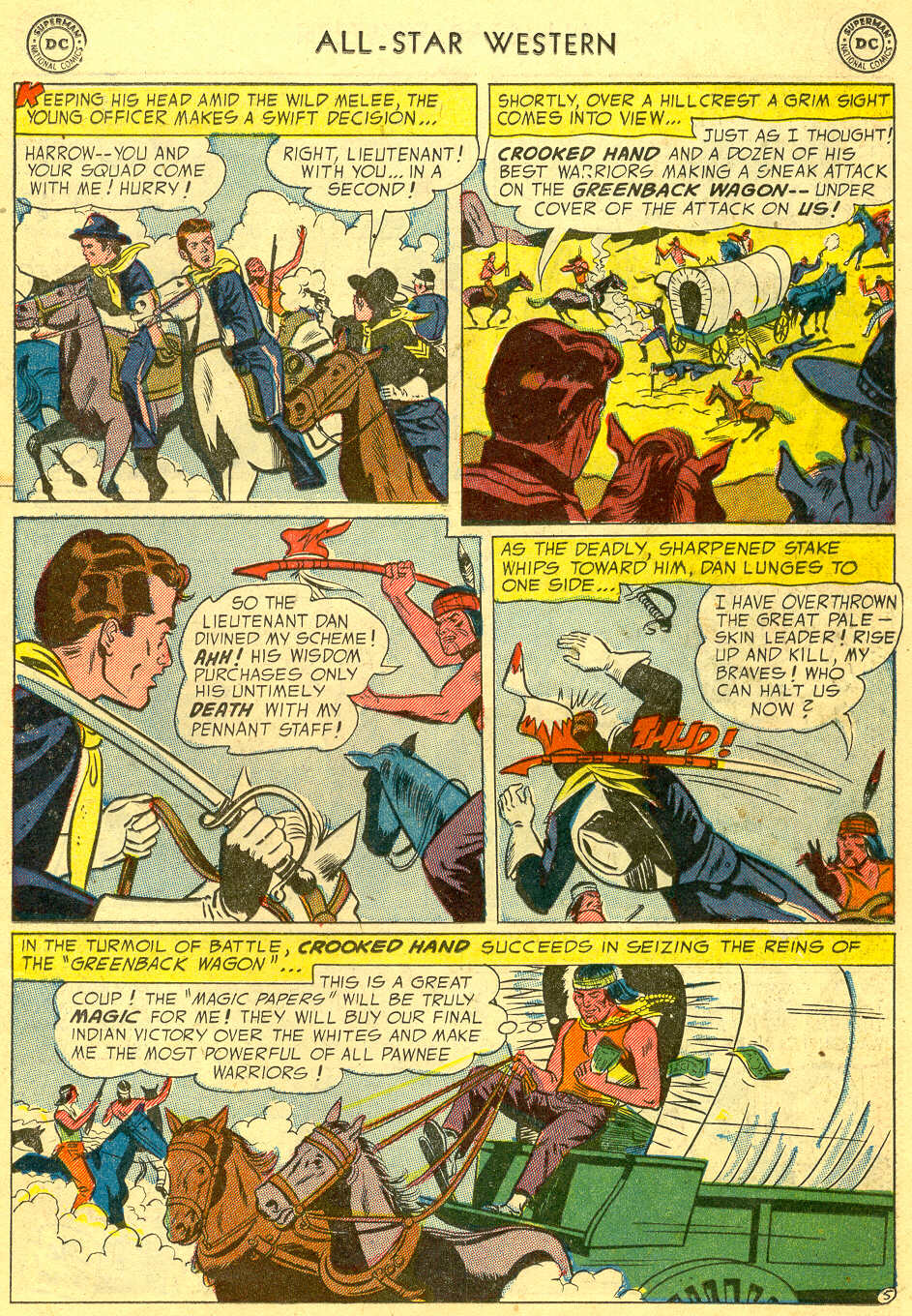 Read online All-Star Western (1951) comic -  Issue #78 - 23