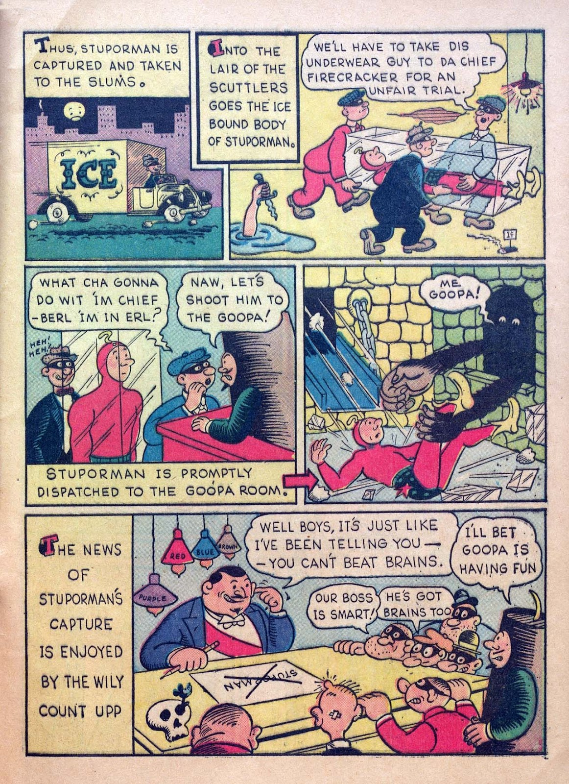 Read online Joker Comics comic -  Issue #1 - 63