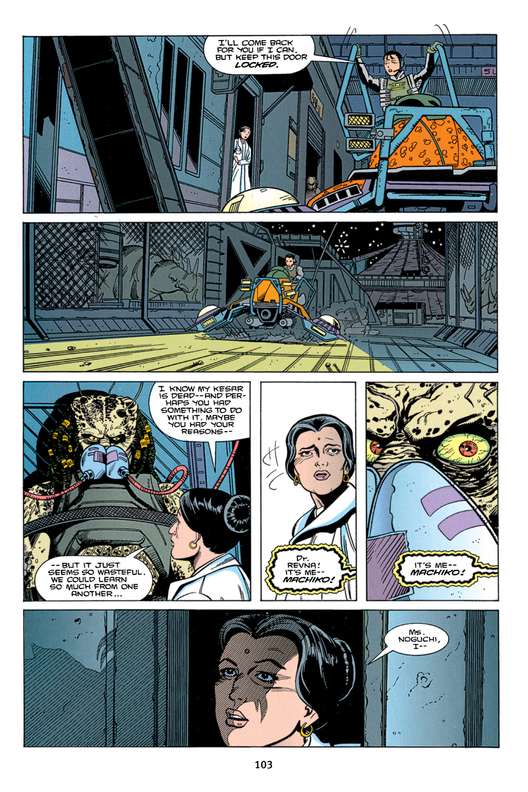 Read online Aliens vs. Predator Omnibus comic -  Issue # _TPB 1 Part 2 - 2
