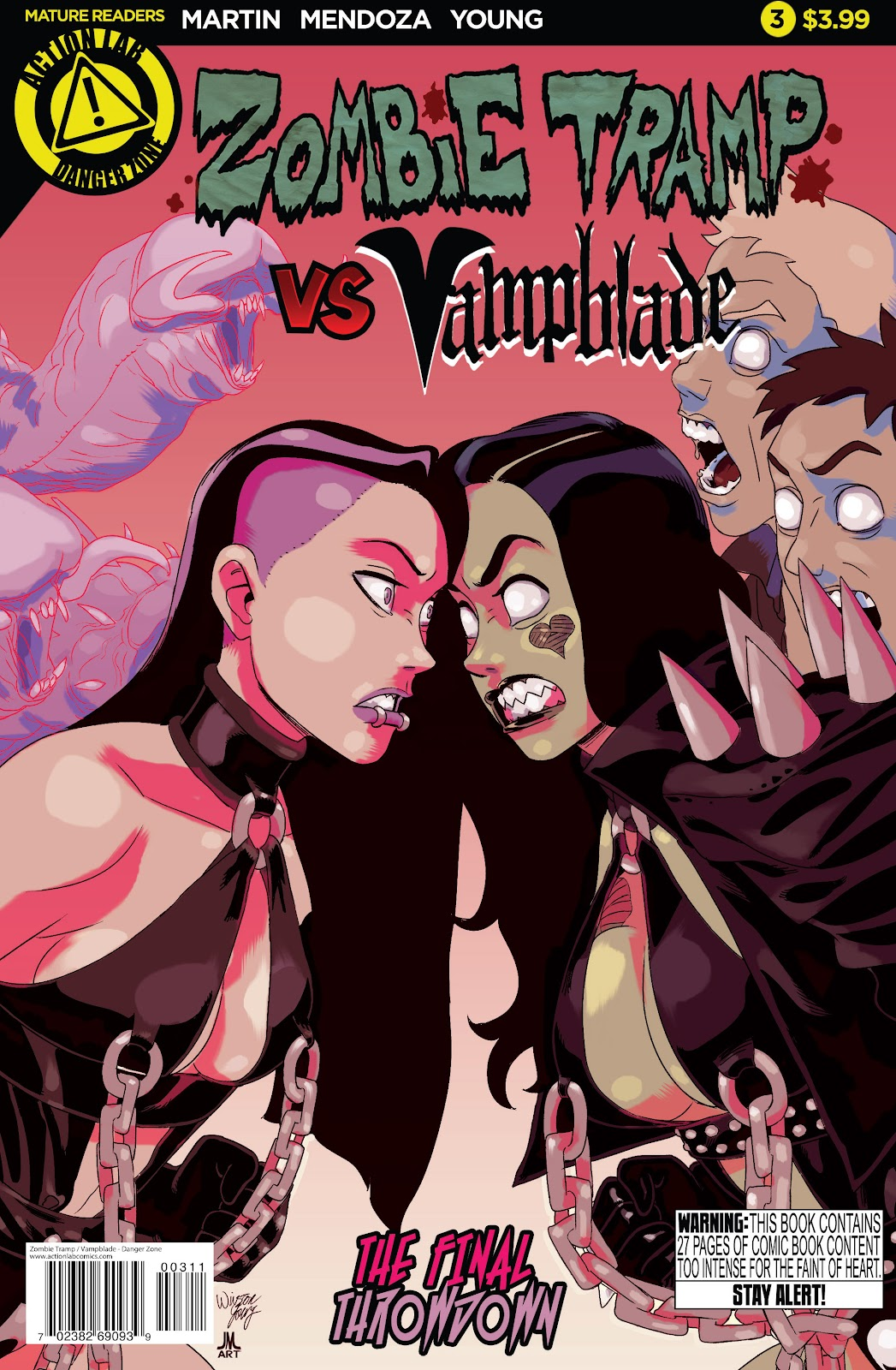 Zombie Tramp vs: Vampblade issue 3 - Page 1