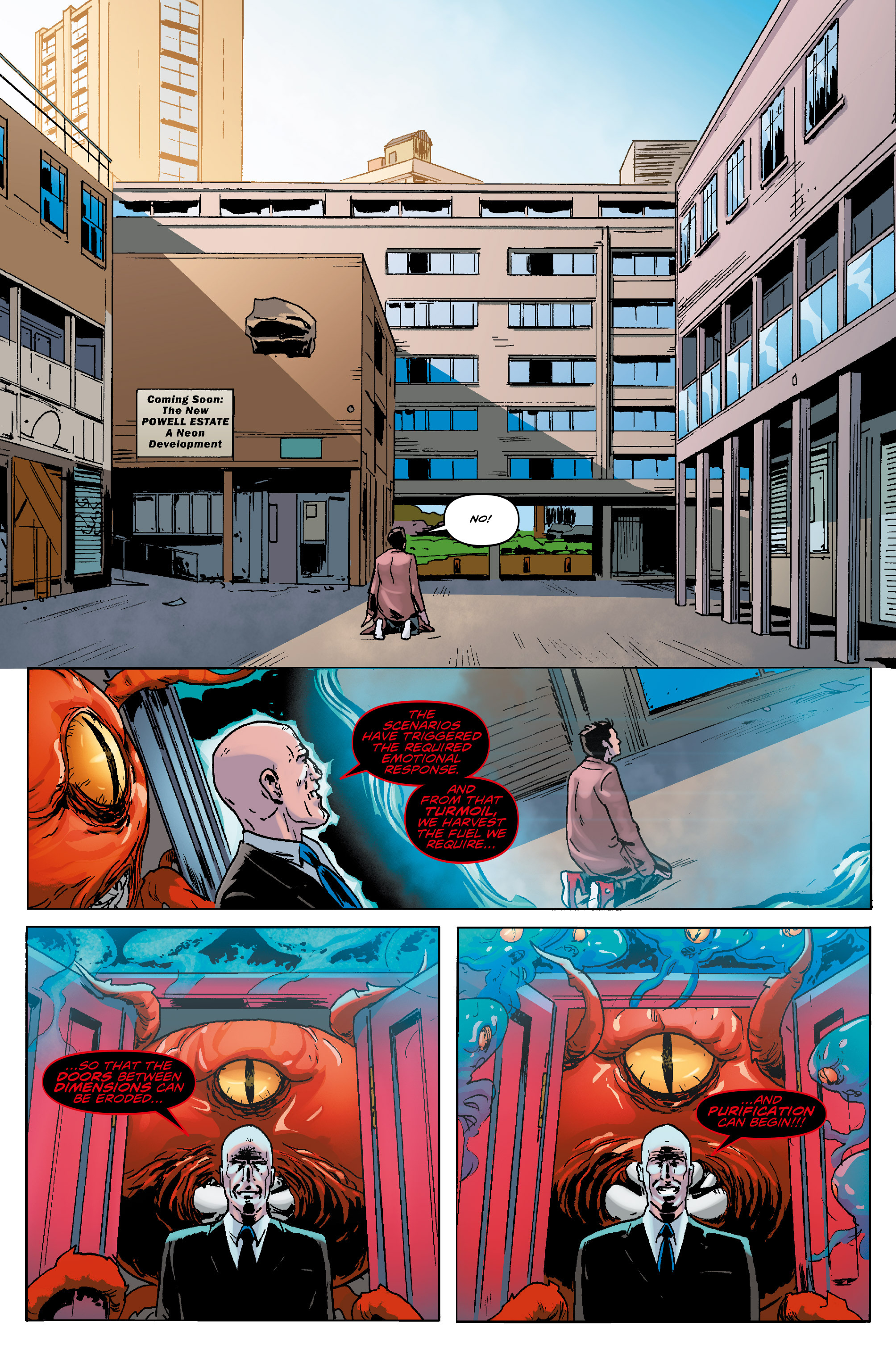 Read online Doctor Who: The Tenth Doctor Year Three comic -  Issue #5 - 22