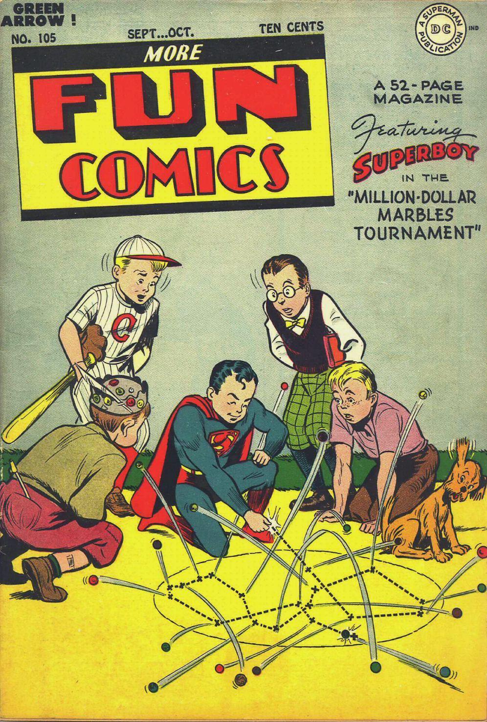 More Fun Comics 105 Page 1