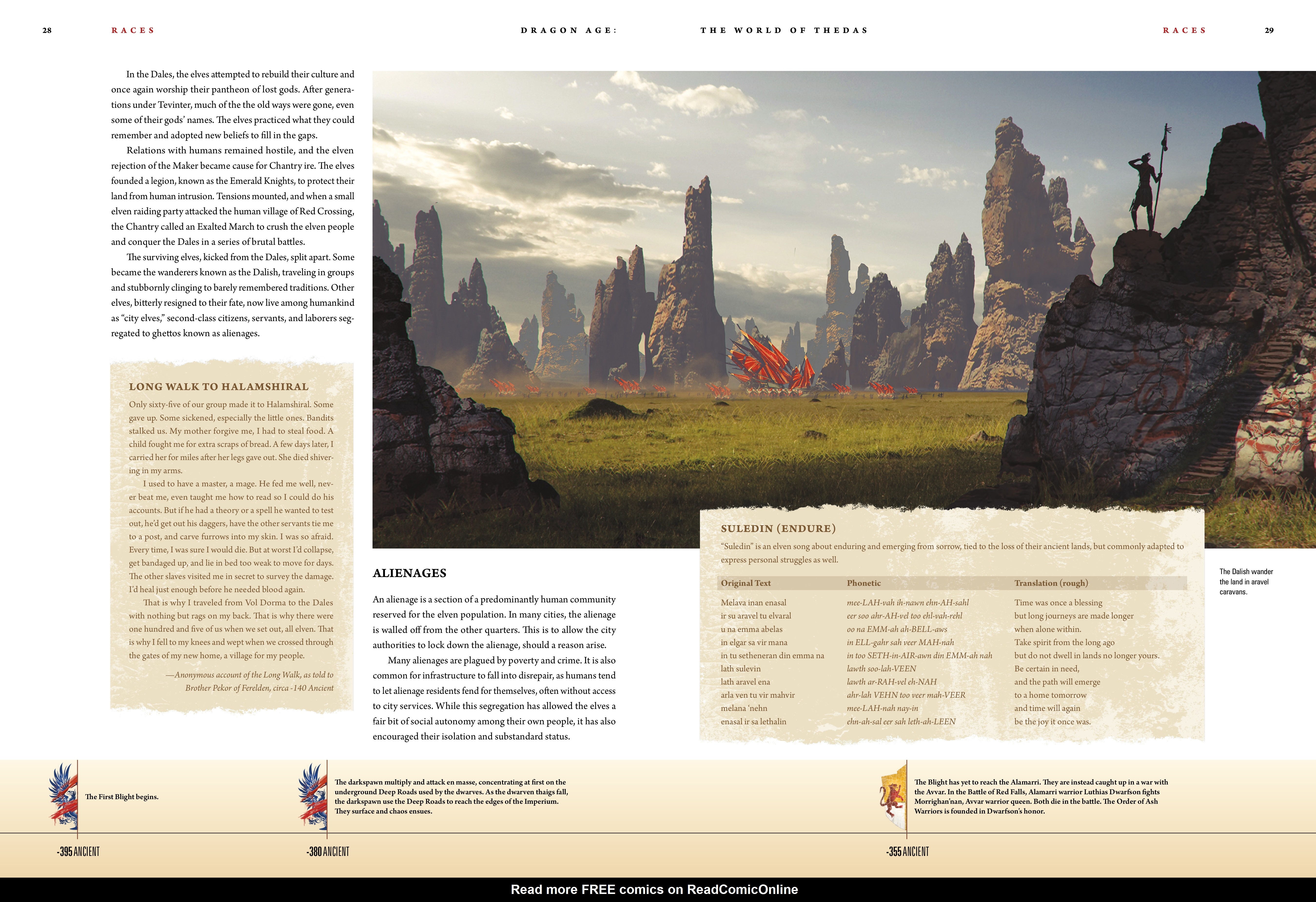 Read online Dragon Age: The World of Thedas comic -  Issue # TPB 1 - 23