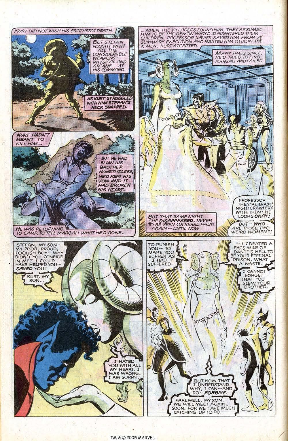 Read online Uncanny X-Men (1963) comic -  Issue # _Annual 4 - 46
