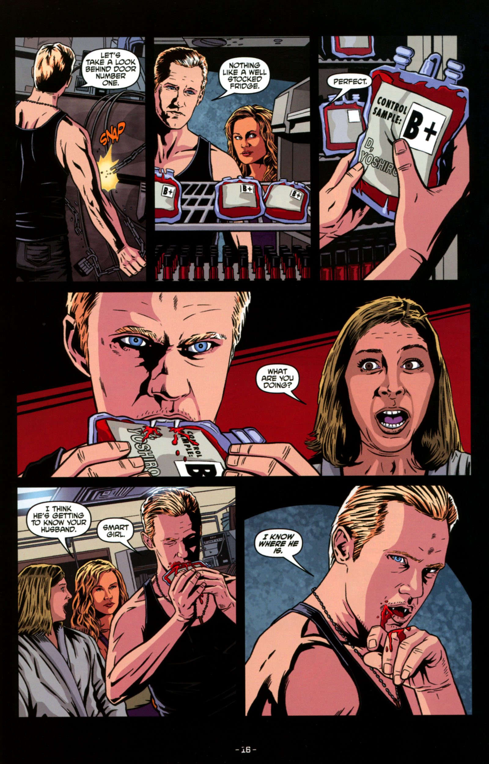 Read online True Blood: Tainted Love comic -  Issue #4 - 18