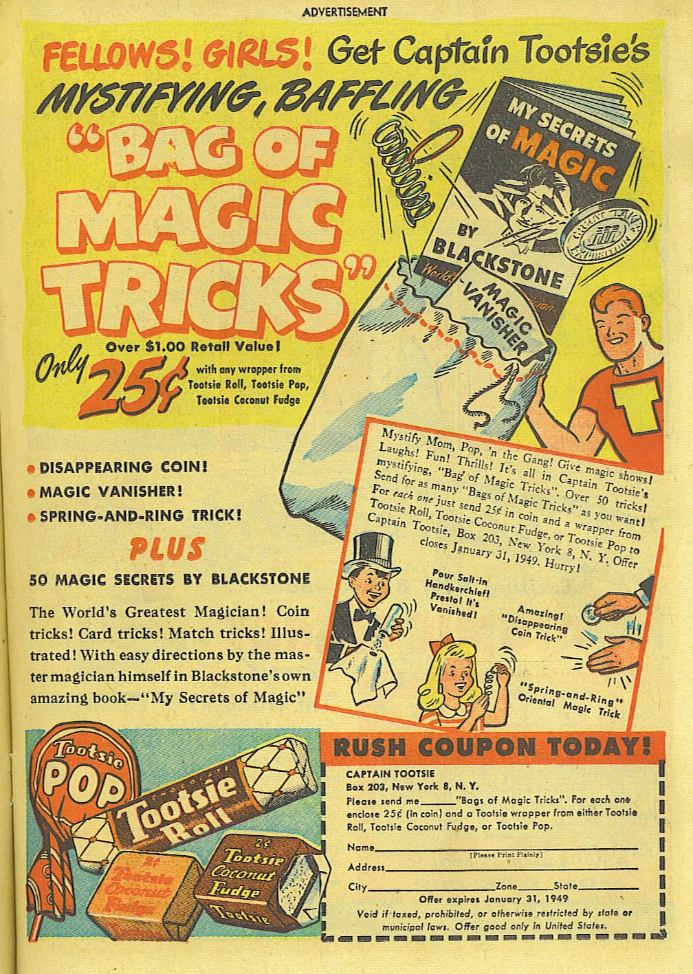 Read online Adventure Comics (1938) comic -  Issue #135 - 21