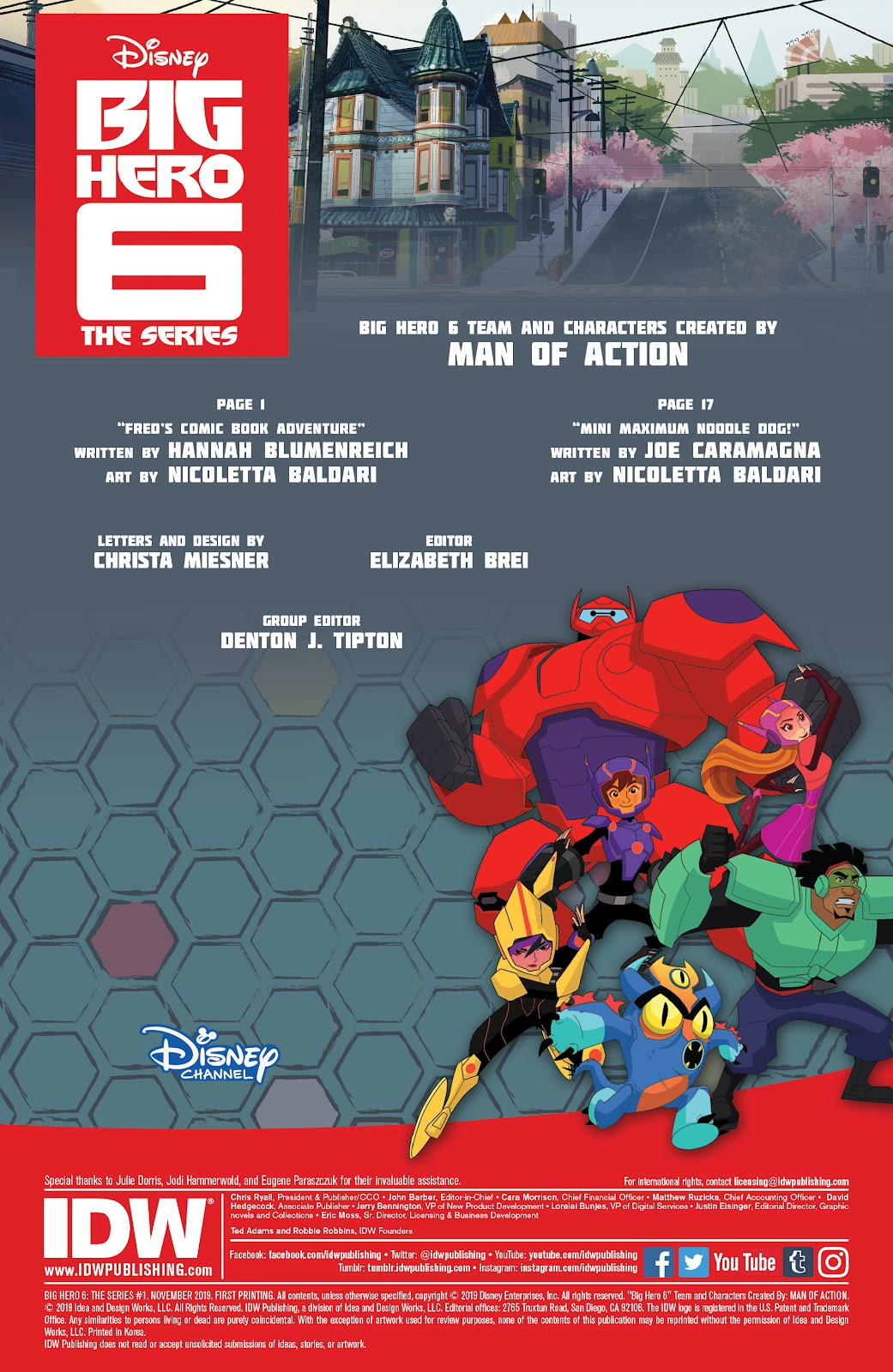 Read online Big Hero 6: The Series comic -  Issue #1 - 2