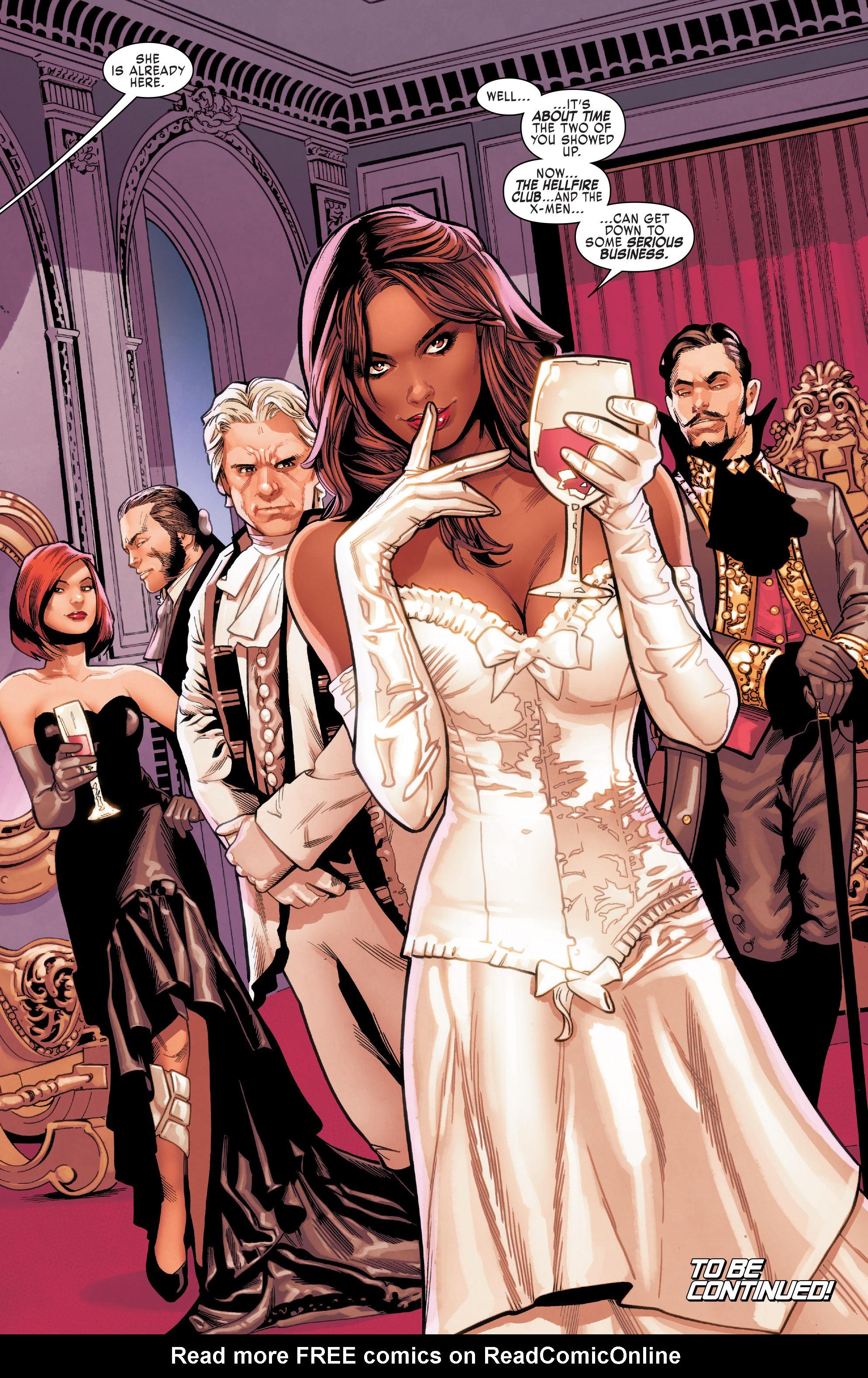 Read online Uncanny X-Men (2016) comic -  Issue #11 - 21