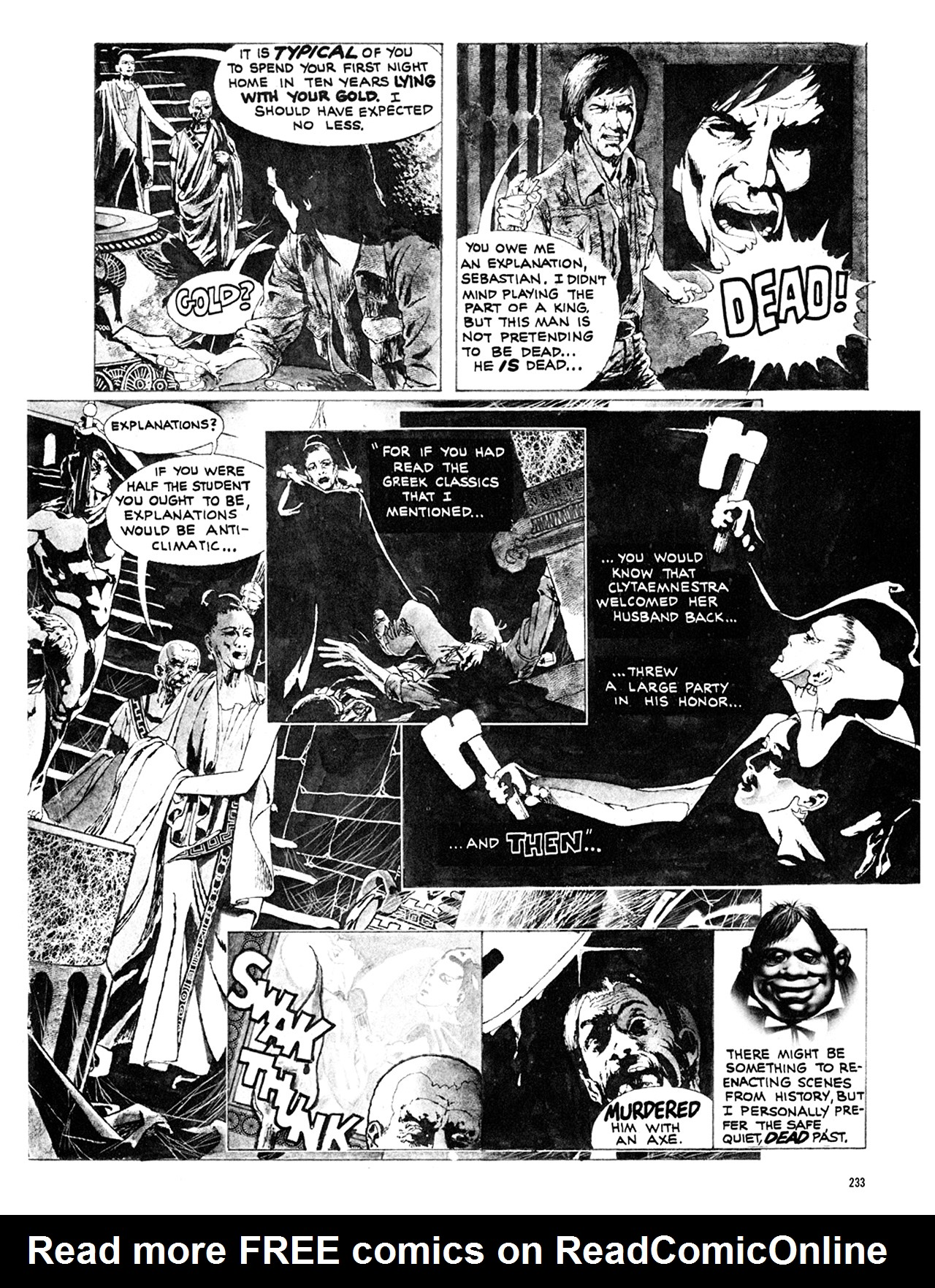 Read online Eerie Archives comic -  Issue # TPB 10 - 234