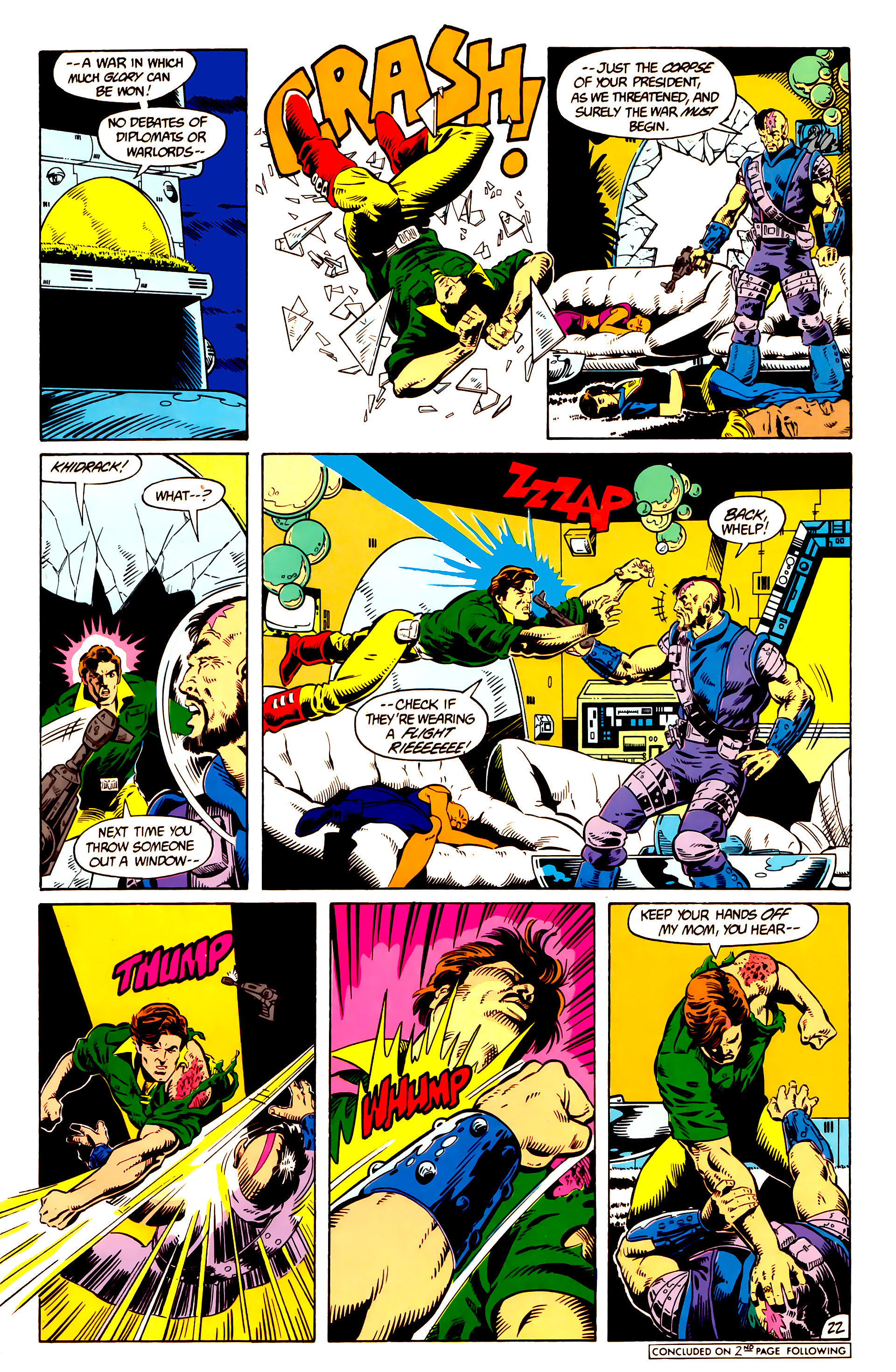 Legion of Super-Heroes (1984) 10 Page 23