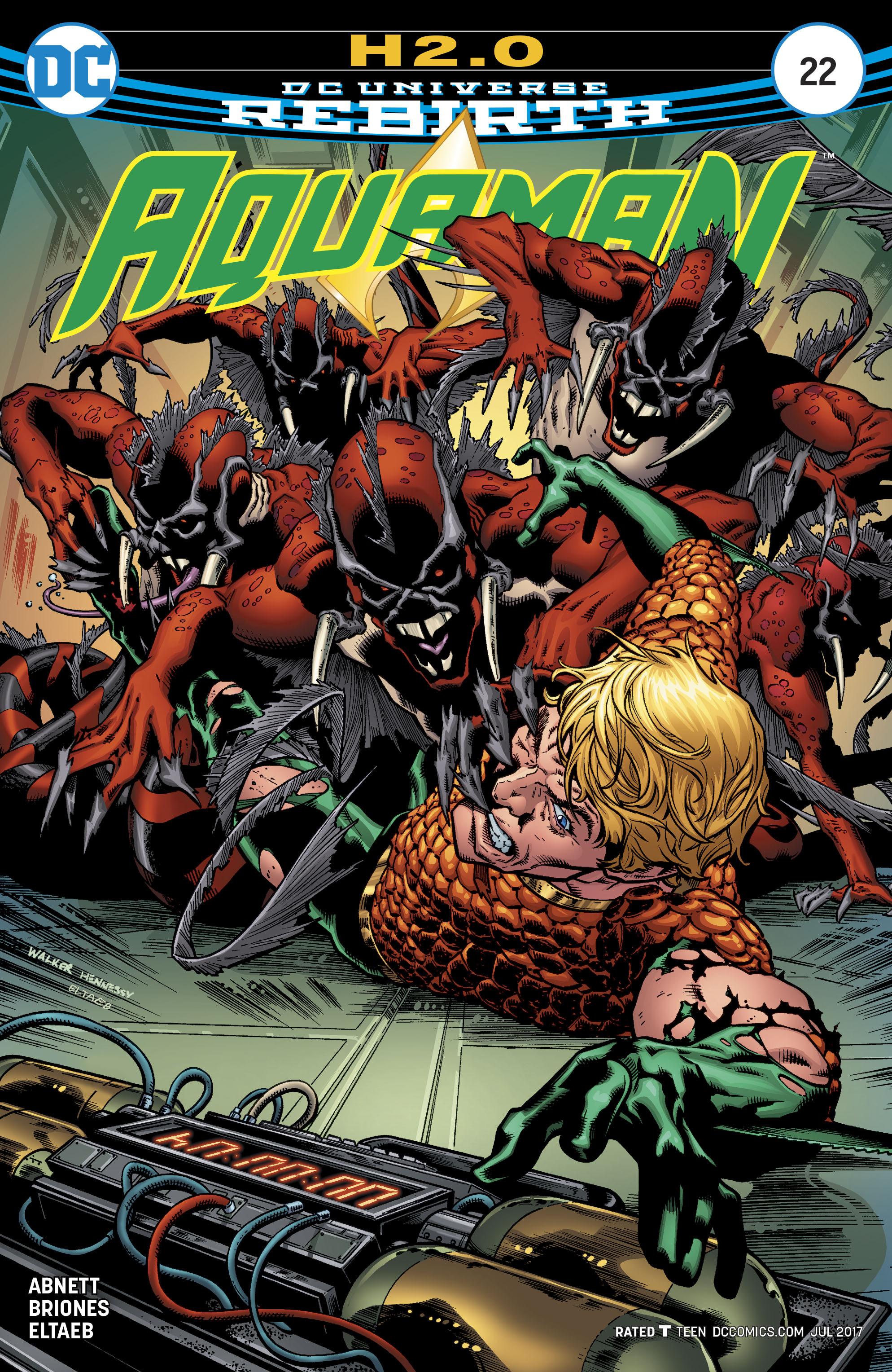 Read online Aquaman (2016) comic -  Issue #22 - 1