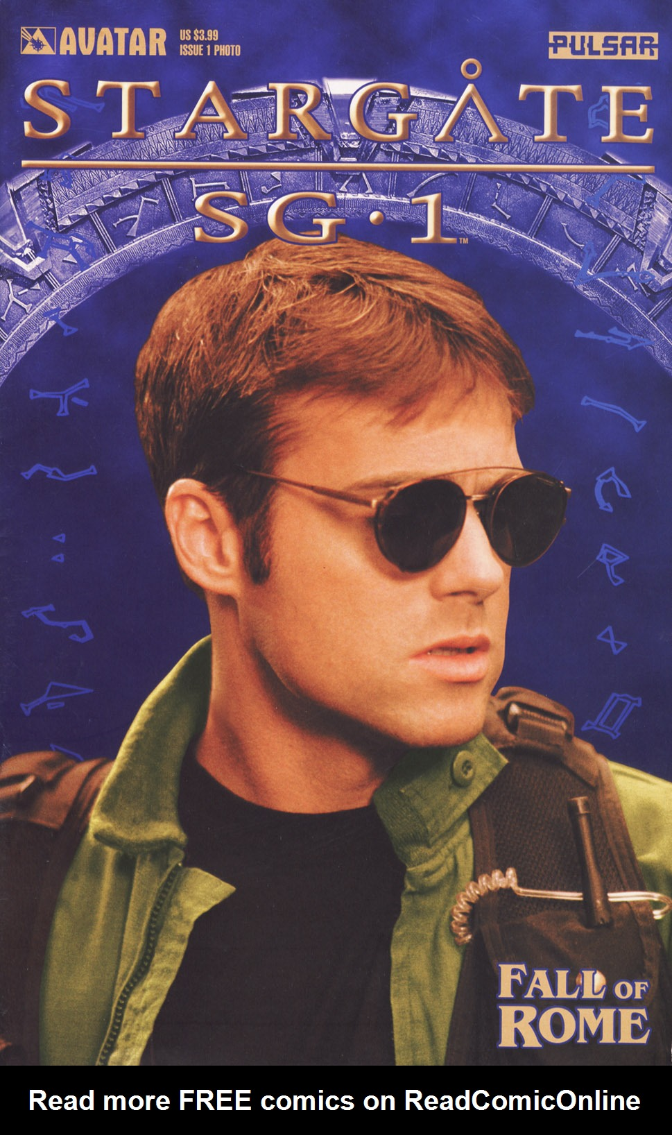 Read online Stargate SG-1: Fall of Rome comic -  Issue #1 - 1