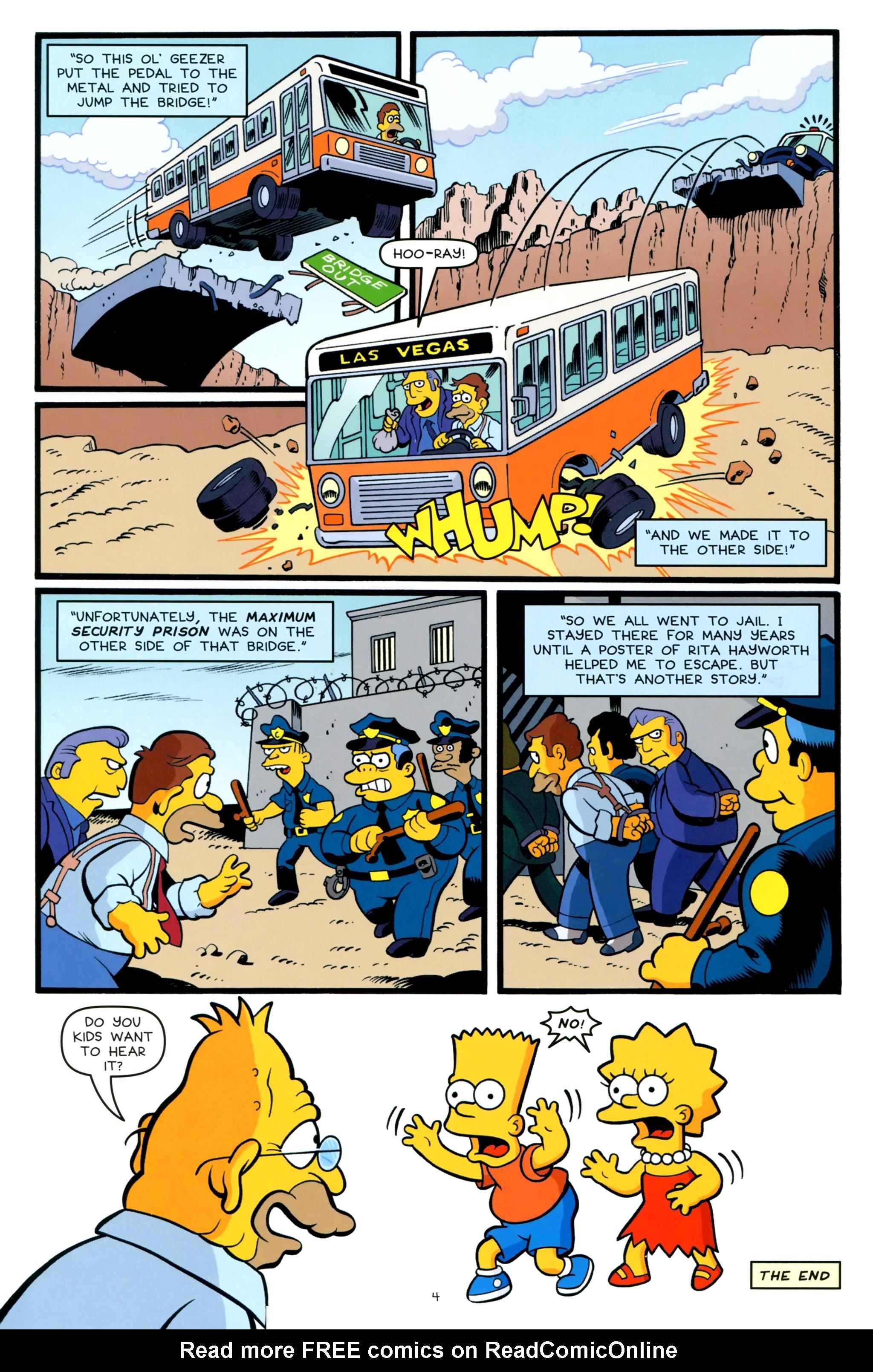 Read online Simpsons One-Shot Wonders: Grampa comic -  Issue # Full - 6