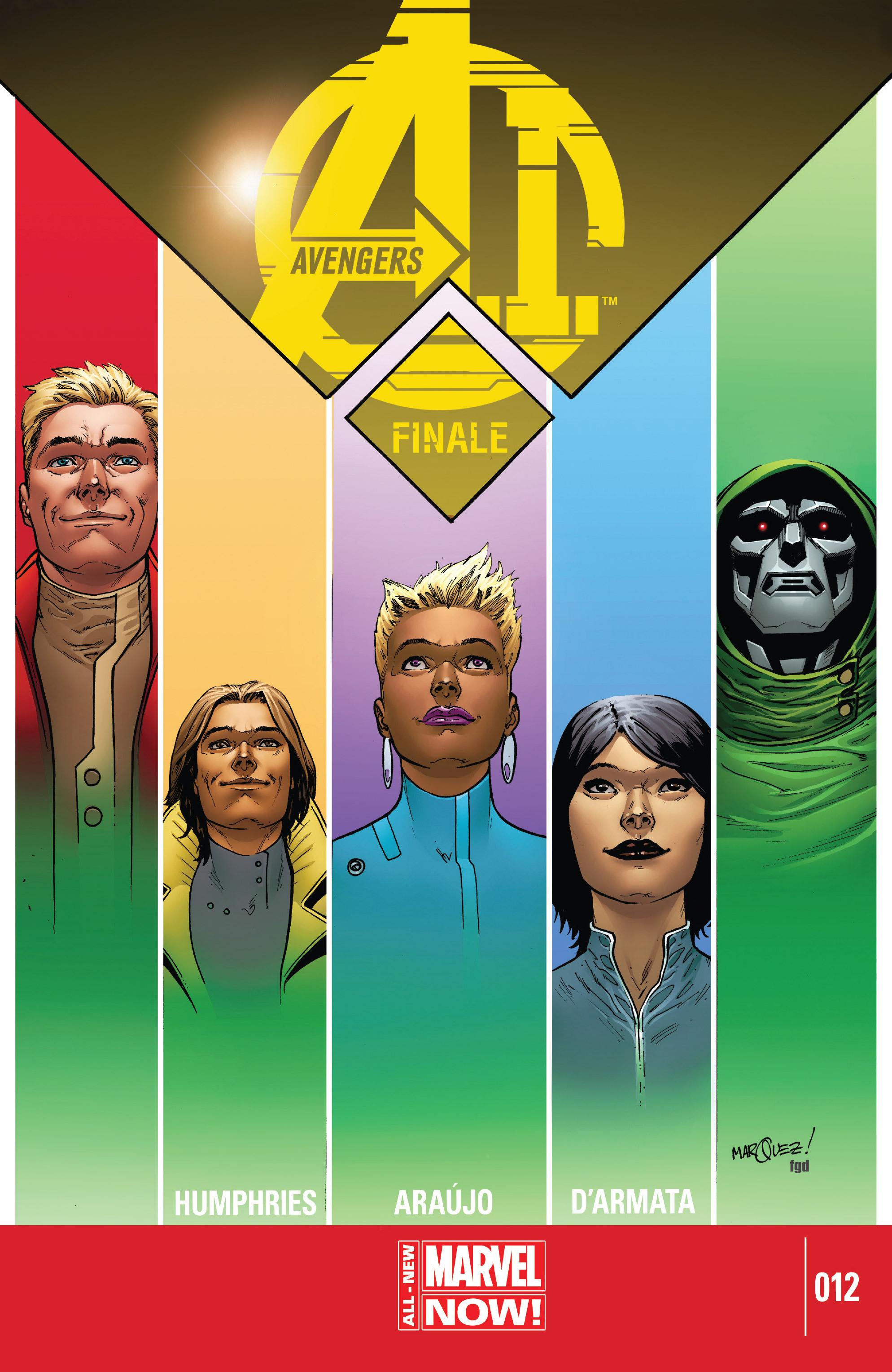 Avengers A.I. 12 Page 1