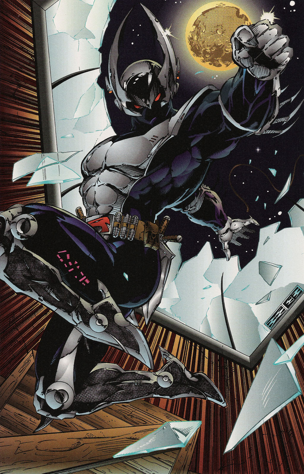 Read online ShadowHawk Gallery comic -  Issue # Full - 11