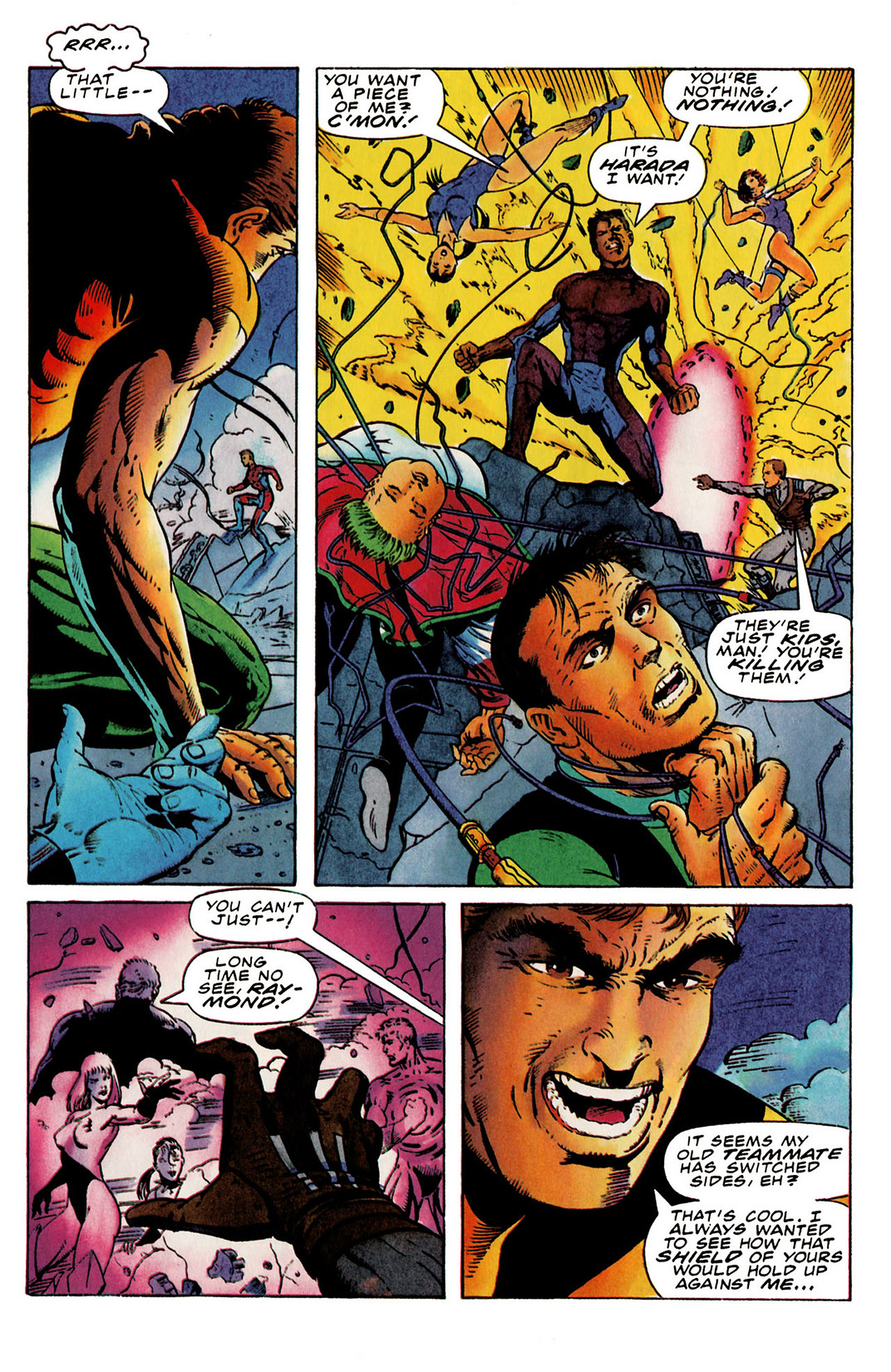 Read online Harbinger (1992) comic -  Issue #25 - 6