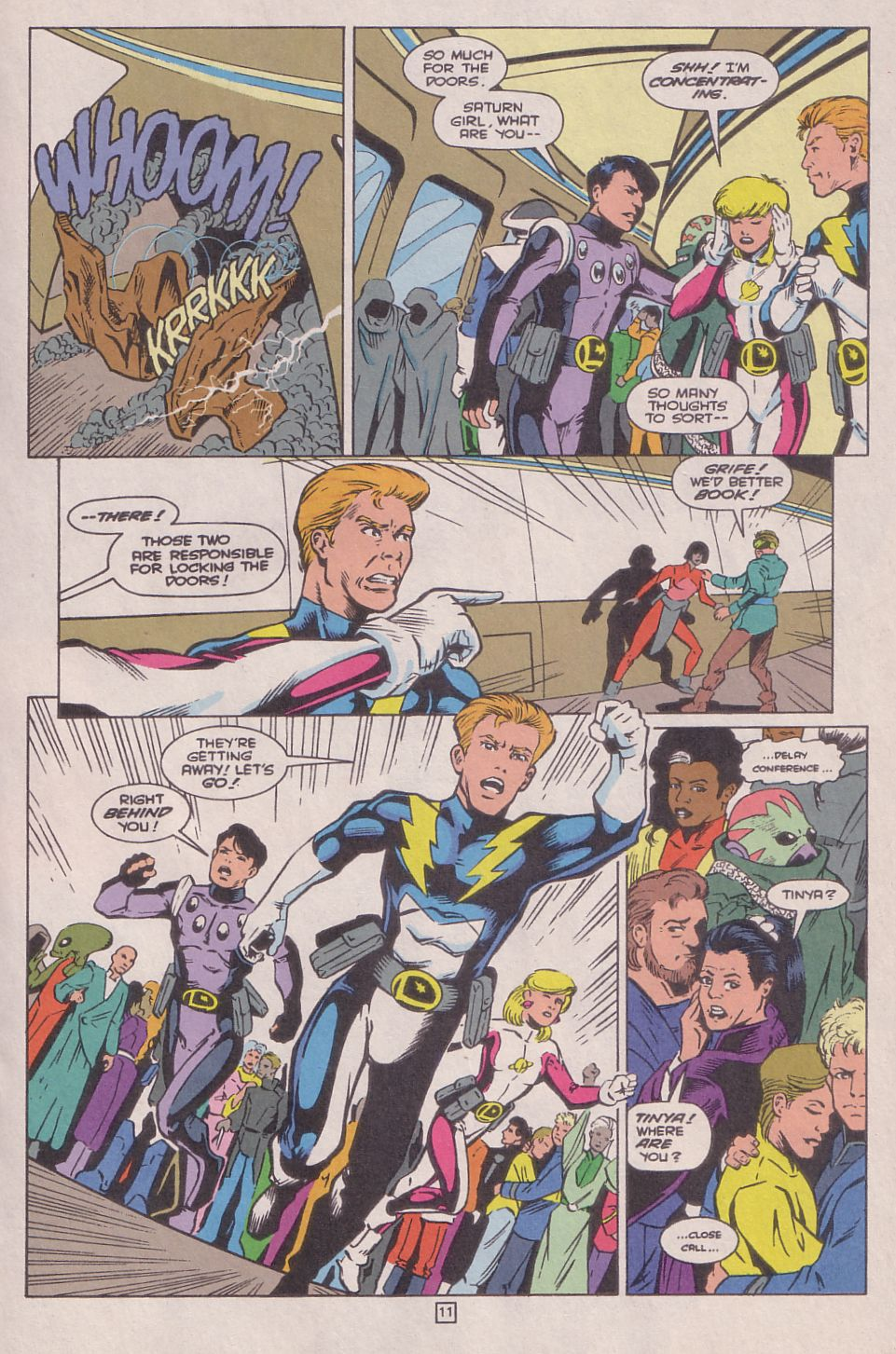 Legionnaires issue 0 - Page 12