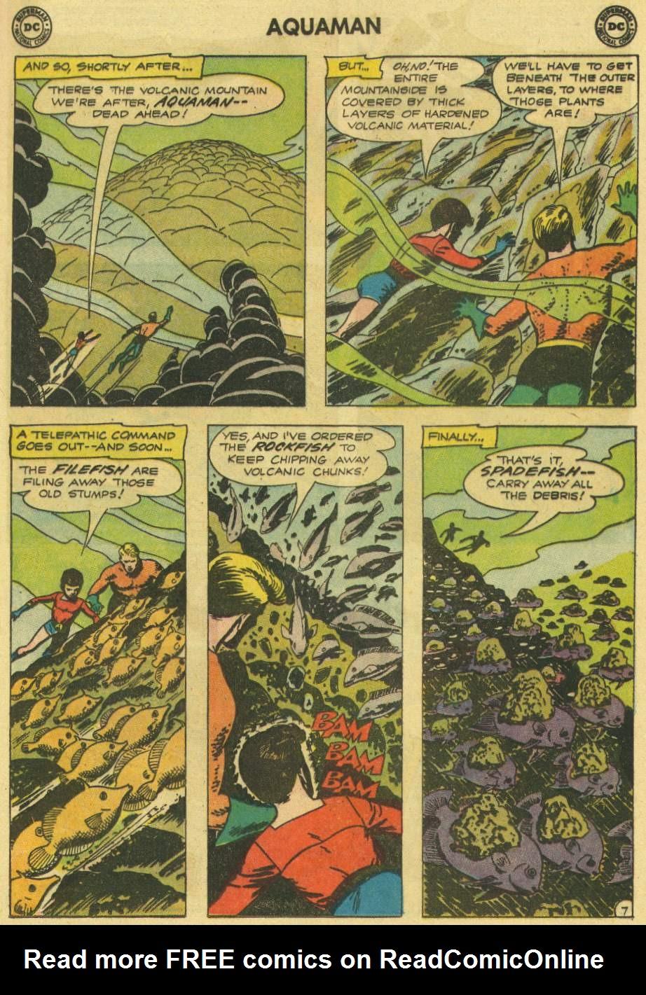 Read online Aquaman (1962) comic -  Issue #7 - 9