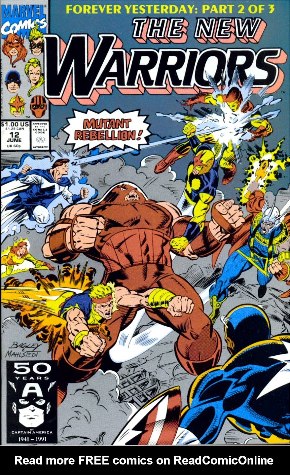 The New Warriors Issue #12 #16 - English 1