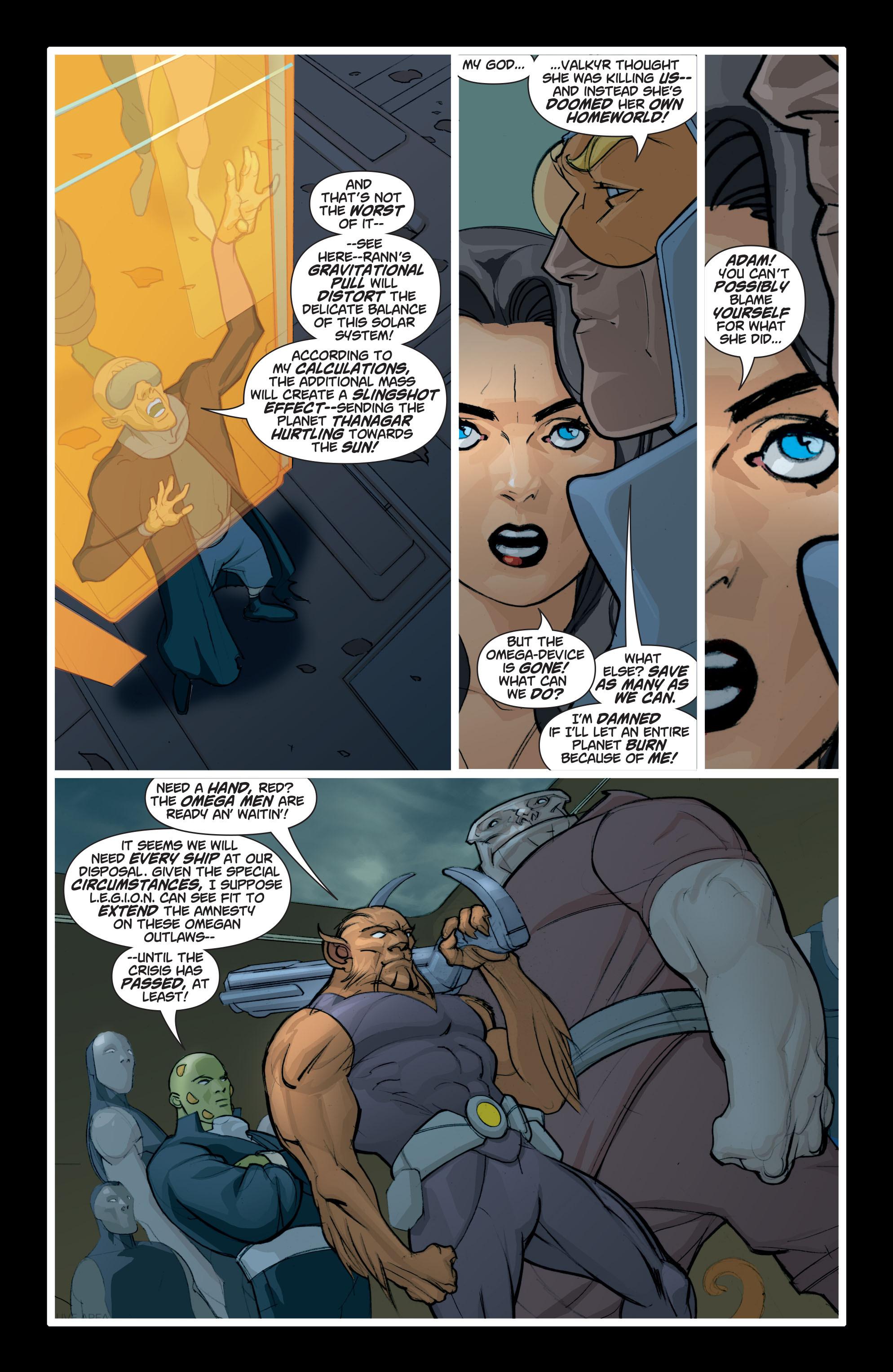 Read online Adam Strange (2004) comic -  Issue #8 - 22