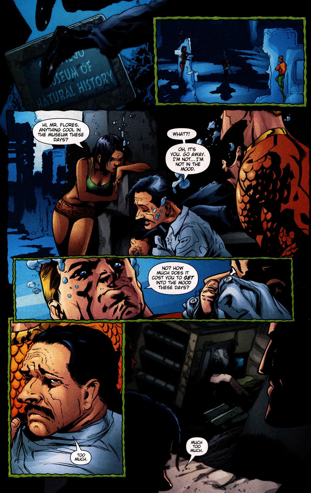 Read online Aquaman (2003) comic -  Issue #25 - 14