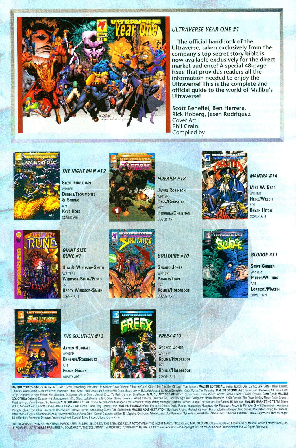 Read online UltraForce (1994) comic -  Issue #0 - 32