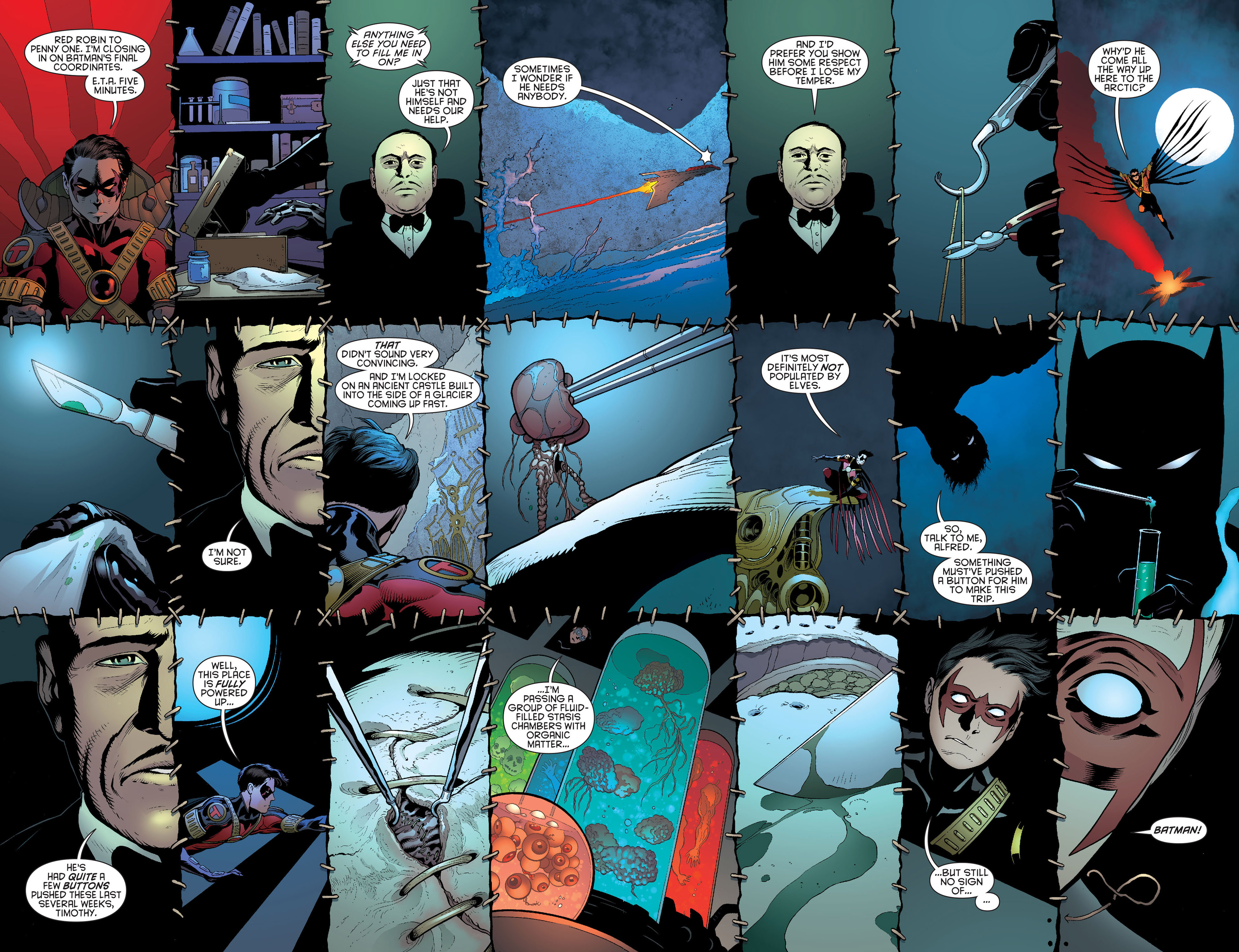 Read online Batman and Robin (2011) comic -  Issue #19 - 16