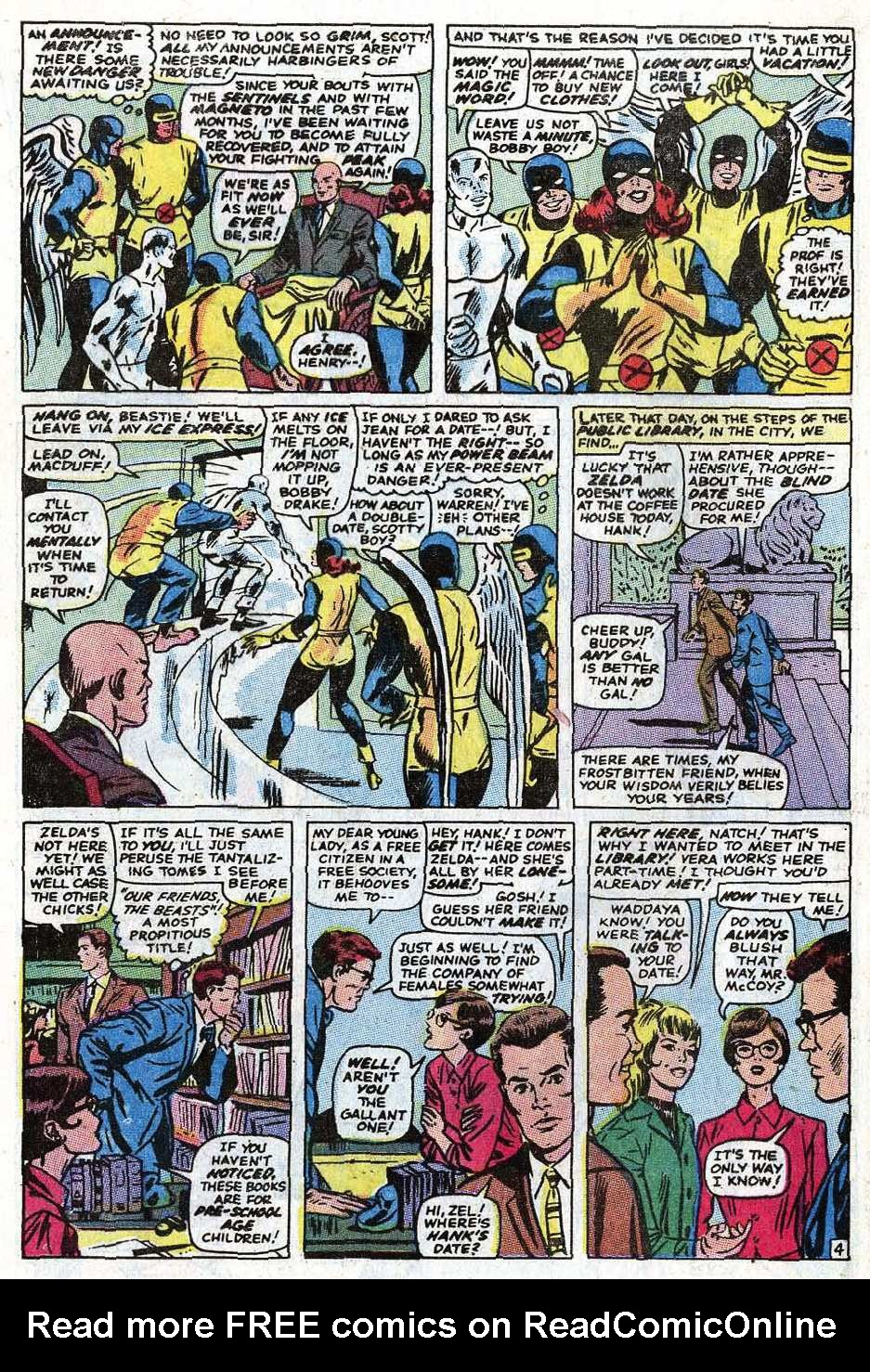 Read online Uncanny X-Men (1963) comic -  Issue #69 - 30