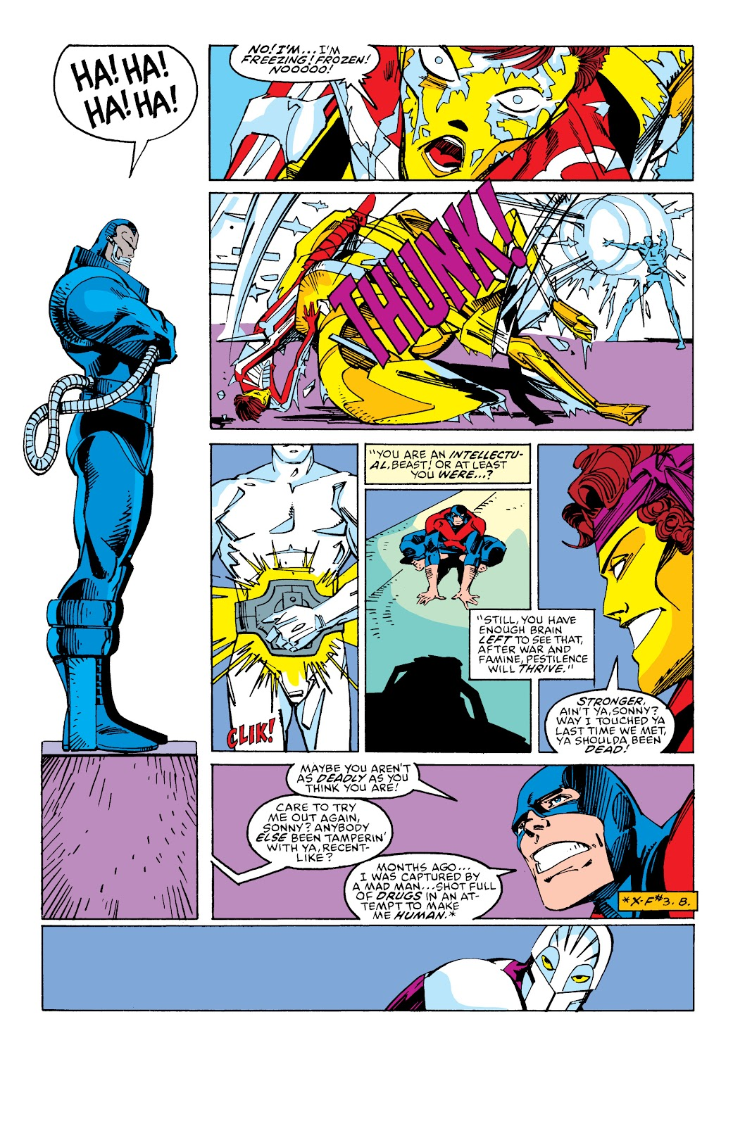 Read online X-Men Milestones: Fall of the Mutants comic -  Issue # TPB (Part 2) - 93