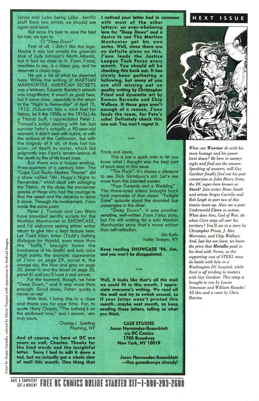Read online Showcase '96 comic -  Issue #1 - 40