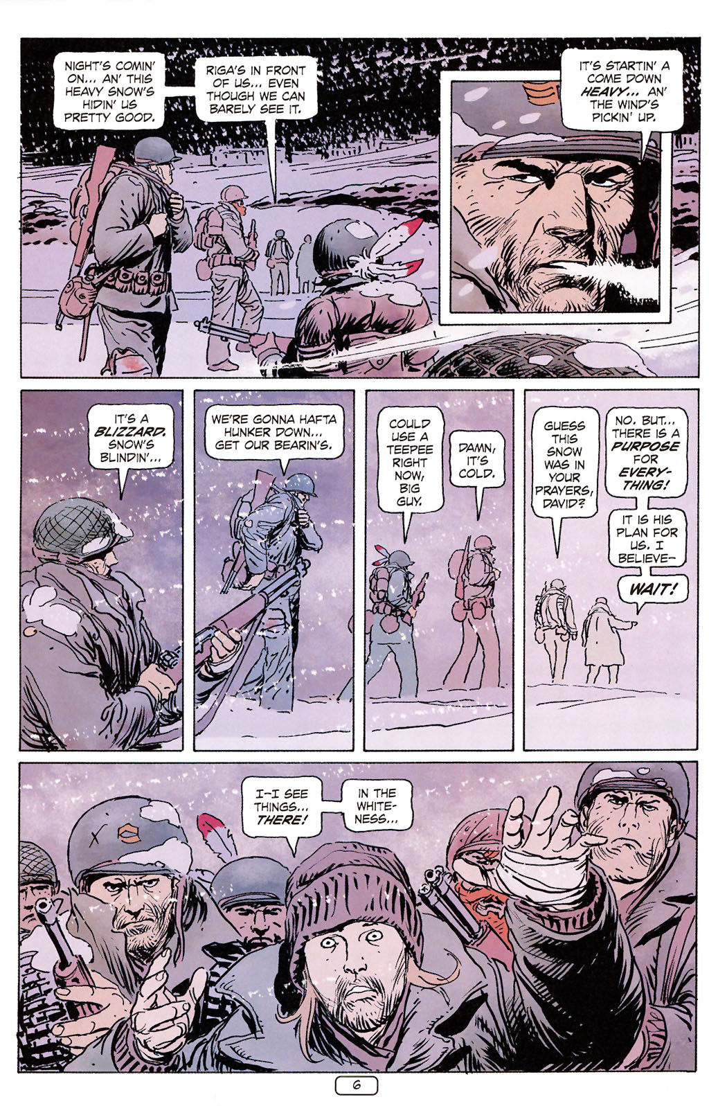 Read online Sgt. Rock: The Prophecy comic -  Issue #6 - 6
