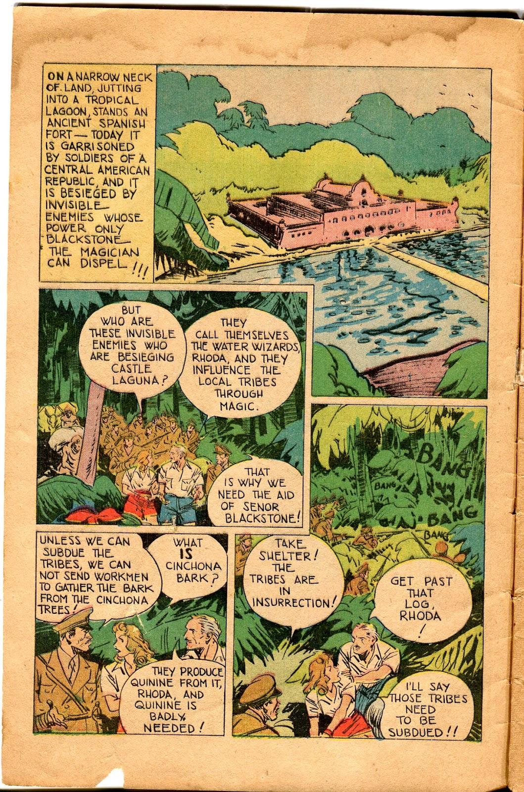 Read online Super-Magician Comics comic -  Issue #34 - 4