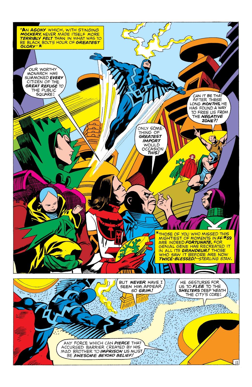 Read online Marvel Masterworks: The Inhumans comic -  Issue # TPB 1 (Part 1) - 55