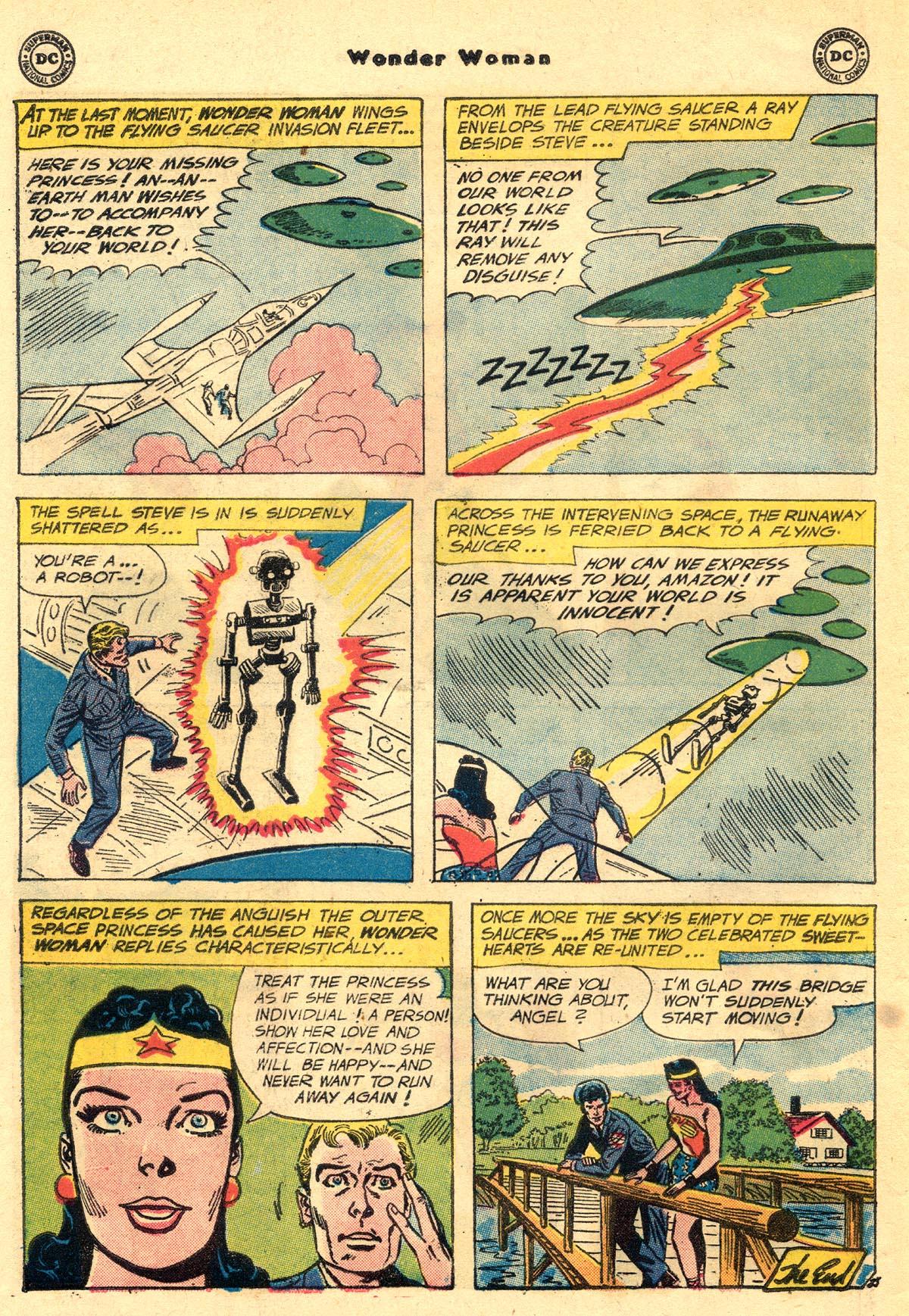 Read online Wonder Woman (1942) comic -  Issue #110 - 32