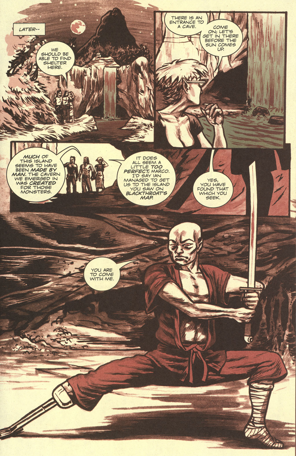 Read online Sea of Red comic -  Issue #4 - 17
