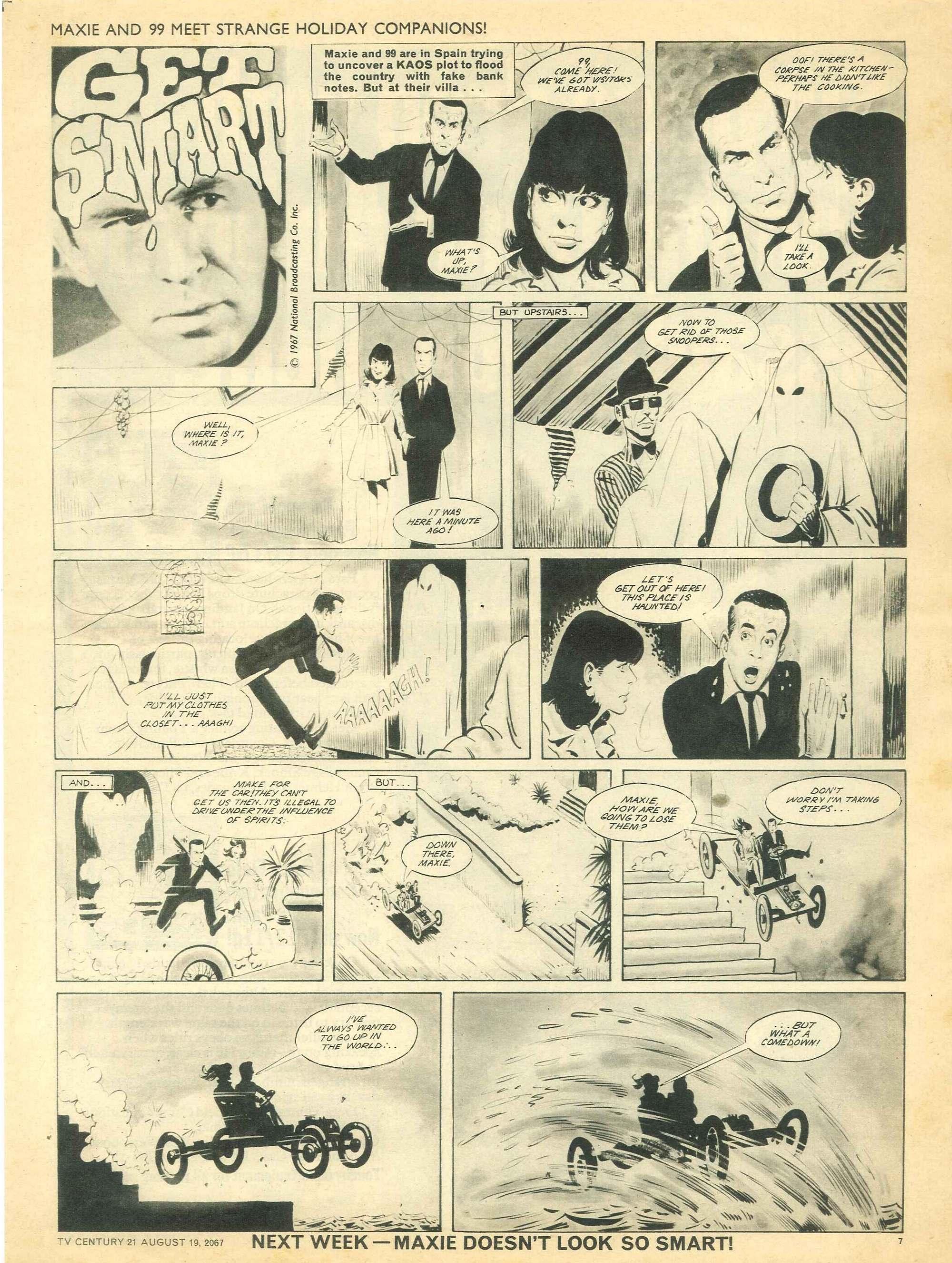 Read online TV Century 21 (TV 21) comic -  Issue #135 - 7