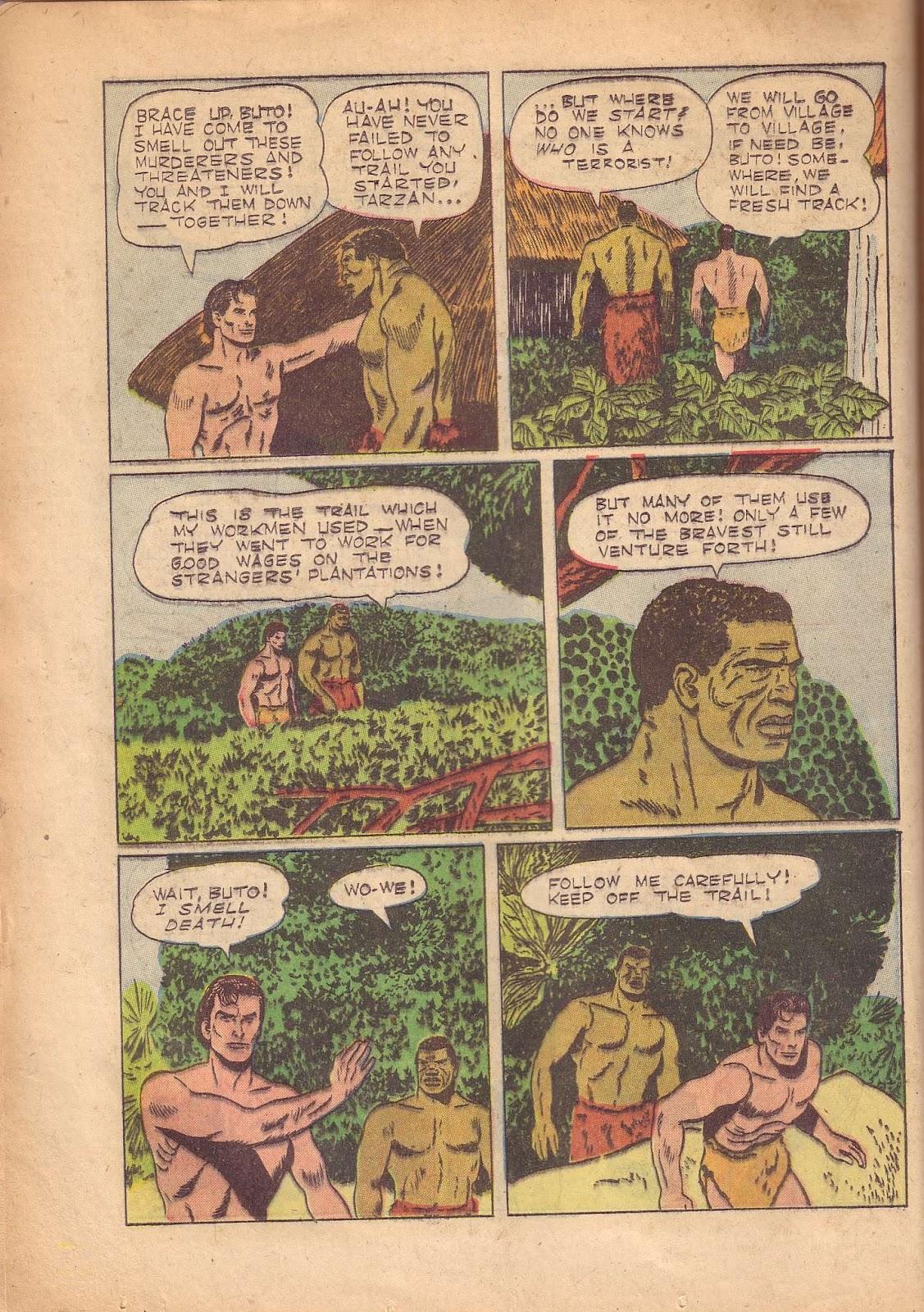 Tarzan (1948) issue 50 - Page 32