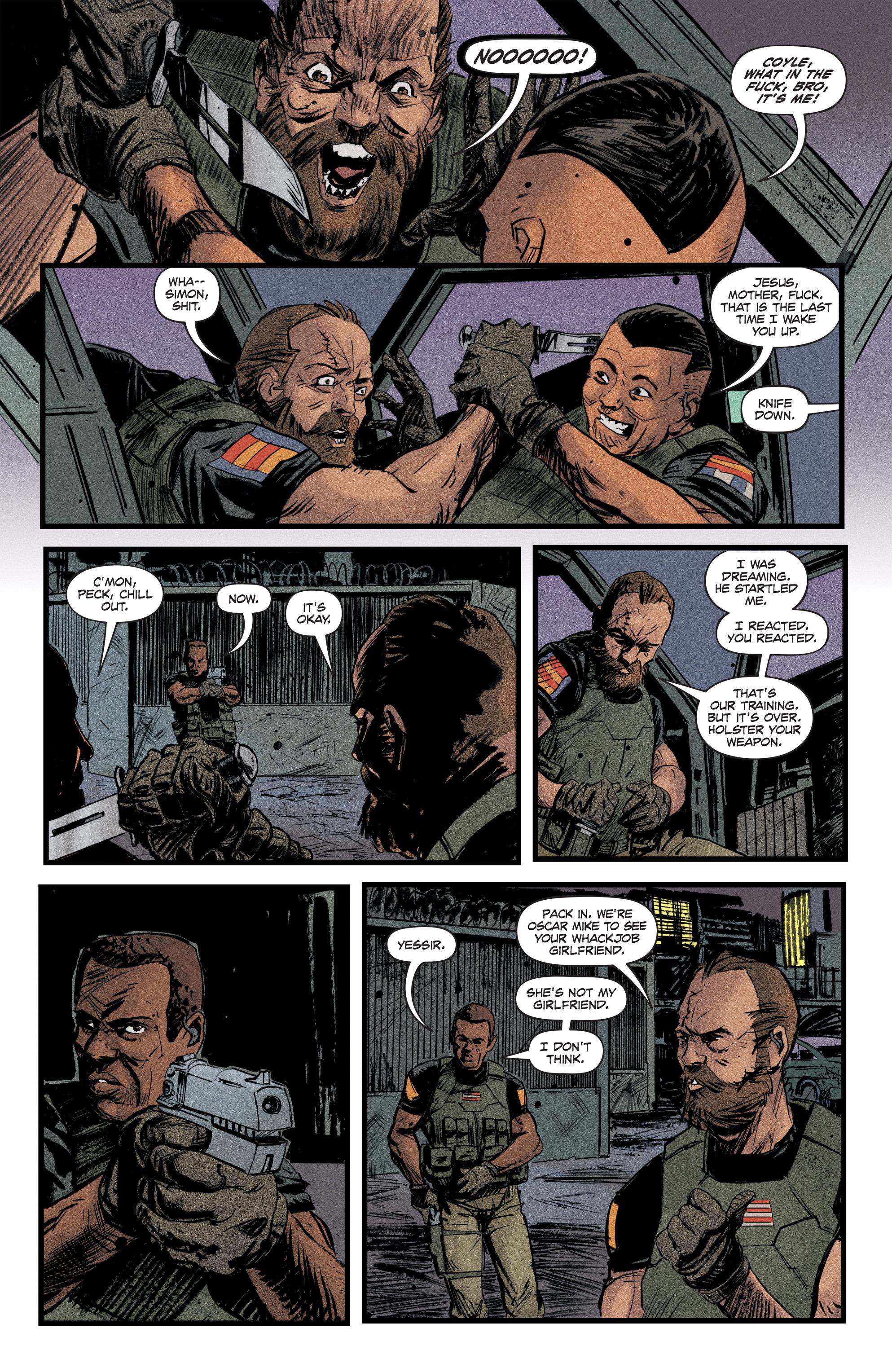 Read online Redline comic -  Issue #2 - 10