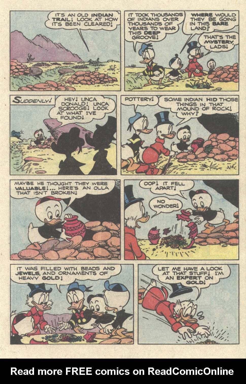 Read online Uncle Scrooge (1953) comic -  Issue #217 - 13
