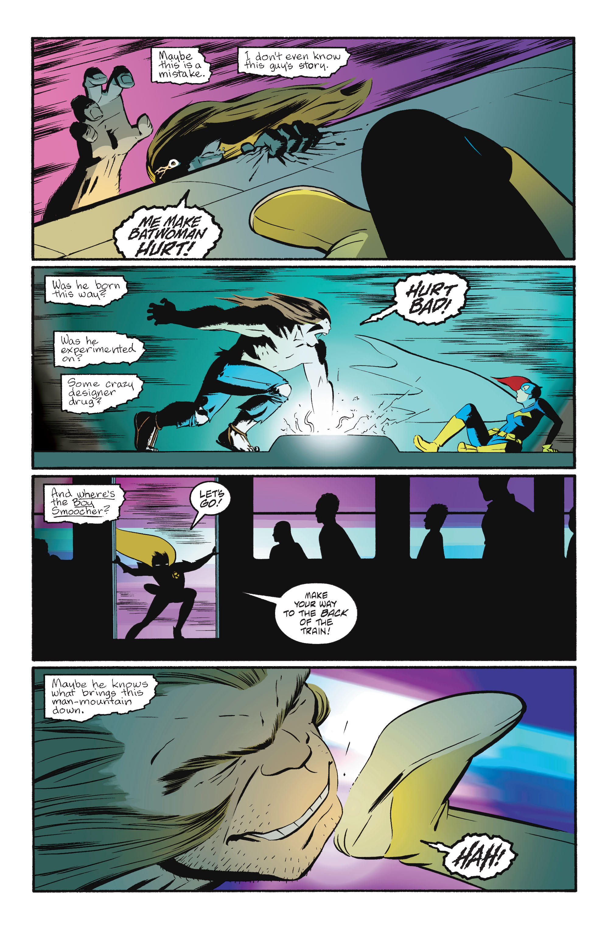 Read online Batgirl/Robin: Year One comic -  Issue # TPB 2 - 168
