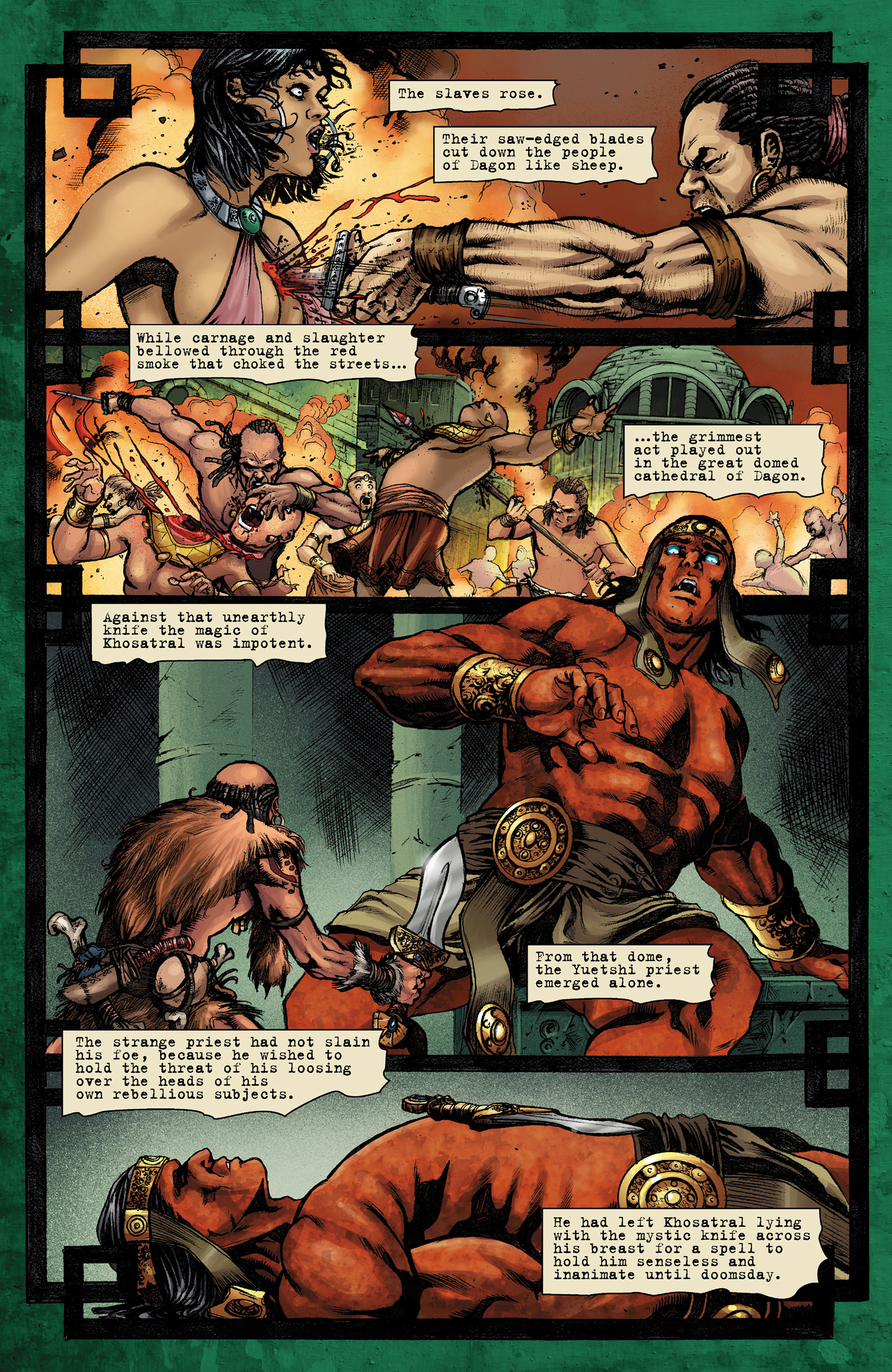 Read online Conan The Slayer comic -  Issue #9 - 18