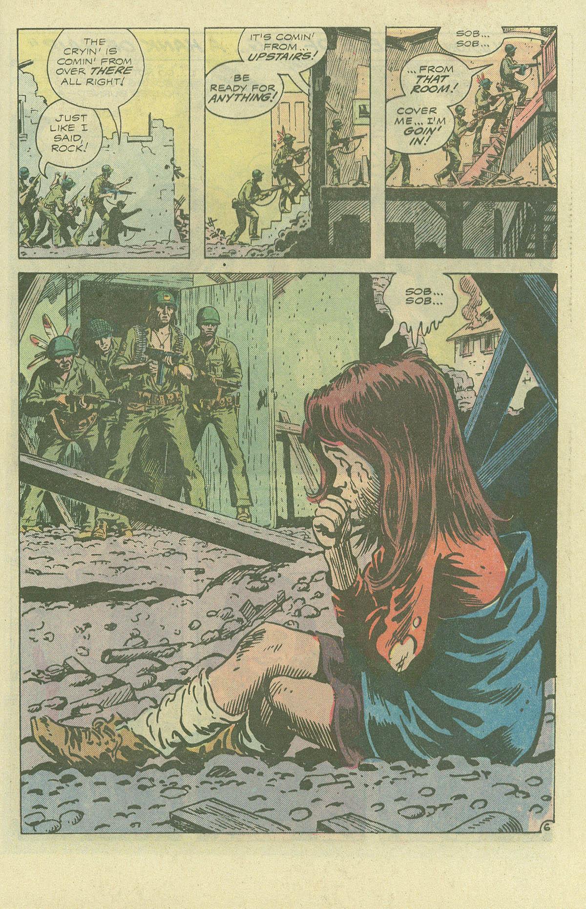 Read online Sgt. Rock comic -  Issue #396 - 8