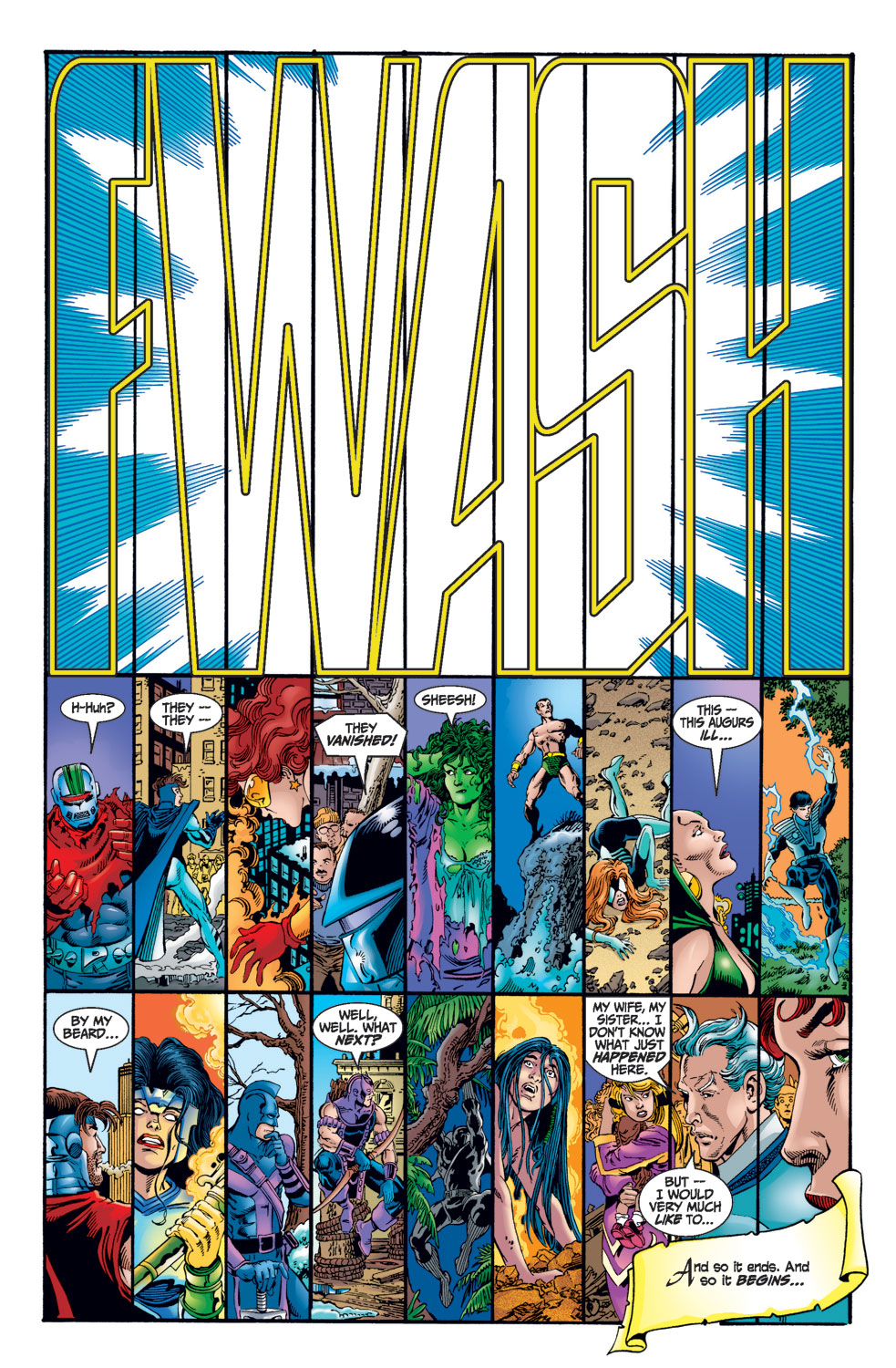 Read online Avengers (1998) comic -  Issue #1 - 9