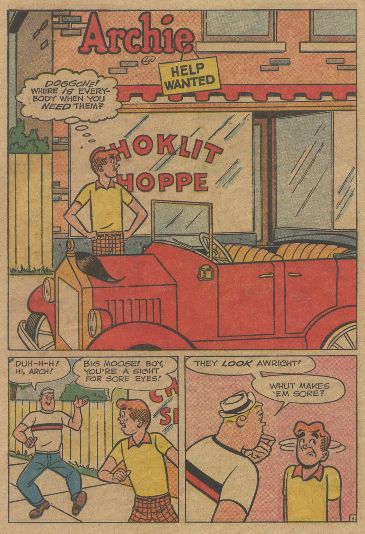 Read online Archie (1960) comic -  Issue #141 - 20