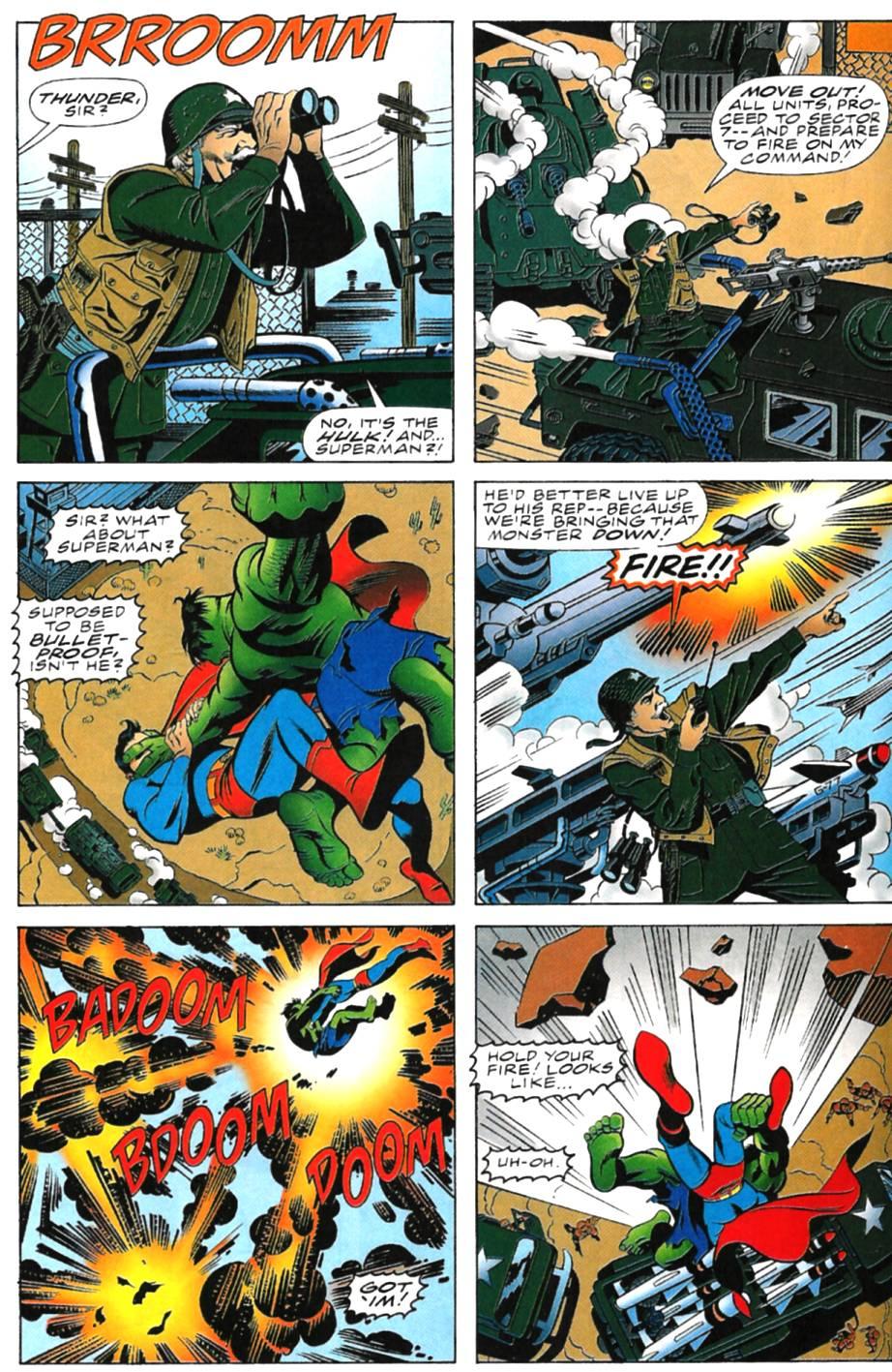 Incredible Hulk vs Superman Full | Viewcomic reading comics online for free 2019