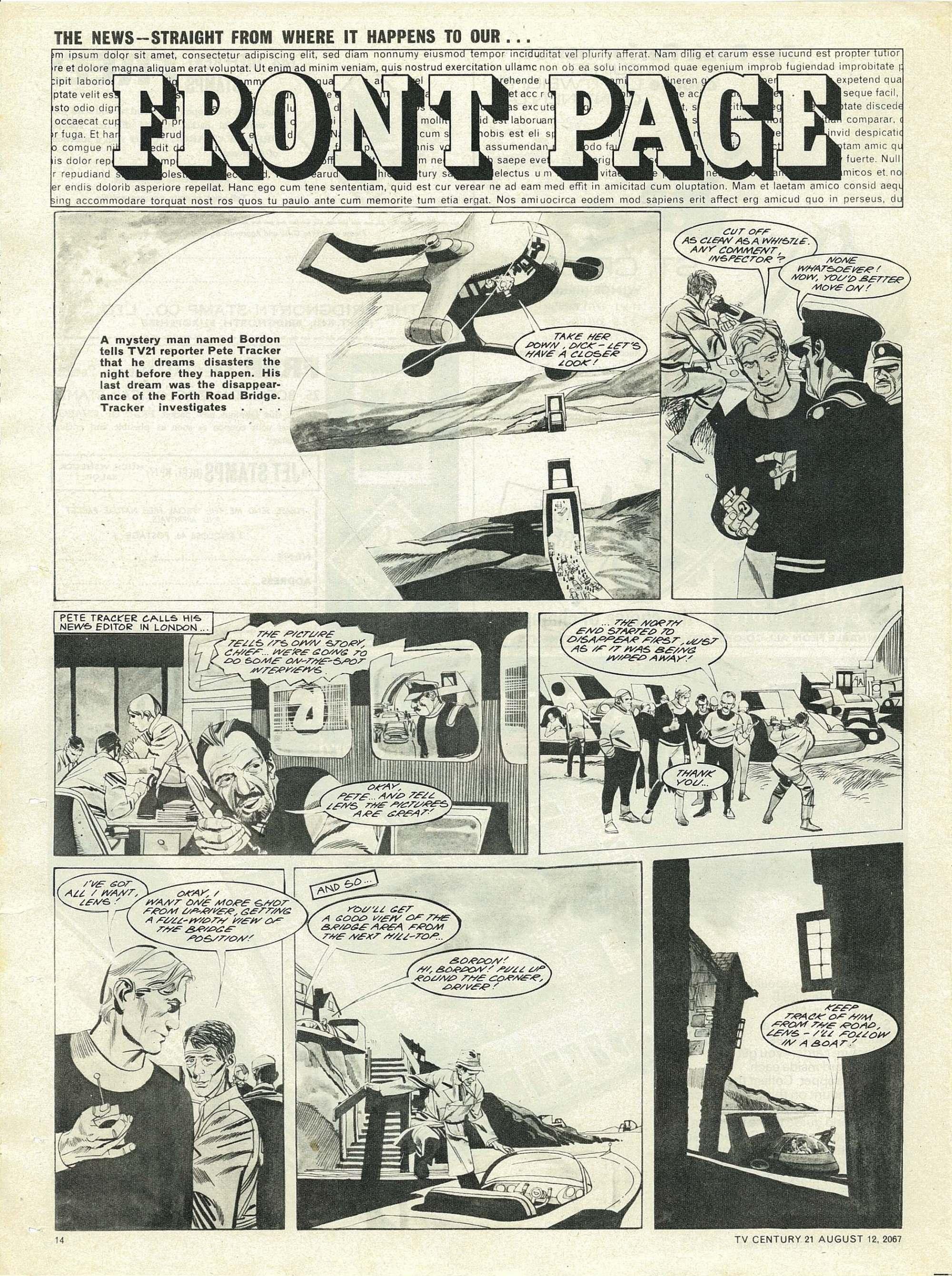 Read online TV Century 21 (TV 21) comic -  Issue #134 - 13