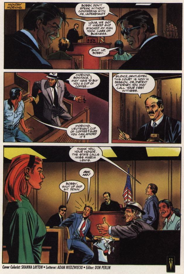 Read online Shadowman (1992) comic -  Issue #36 - 22