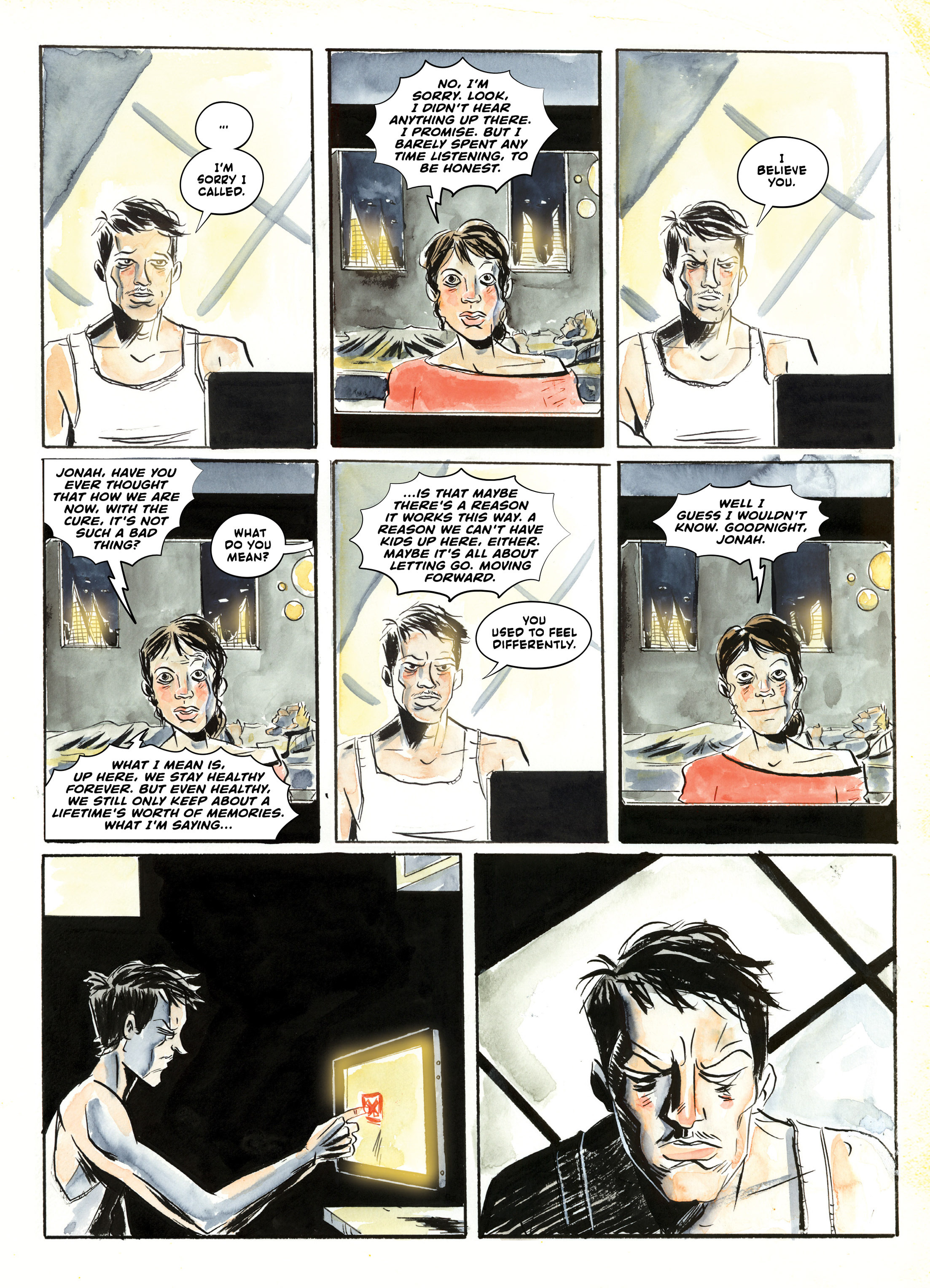 Read online A.D.: After Death comic -  Issue #2 - 37