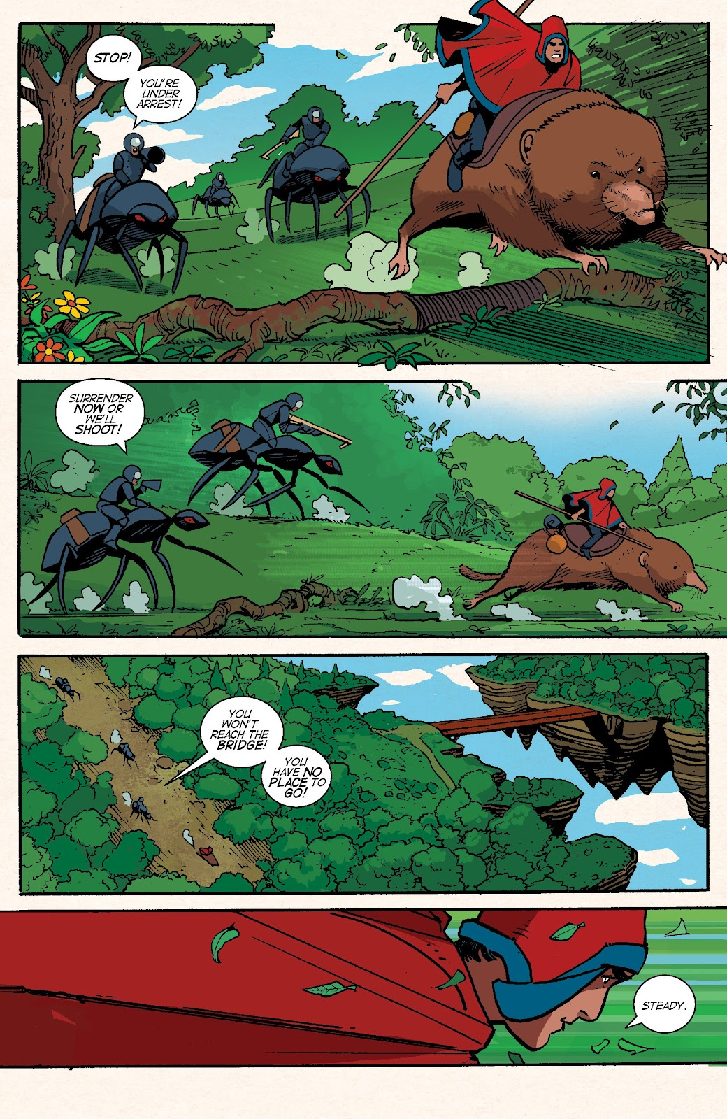Read online Auntie Agatha's Home For Wayward Rabbits comic -  Issue #6 - 25