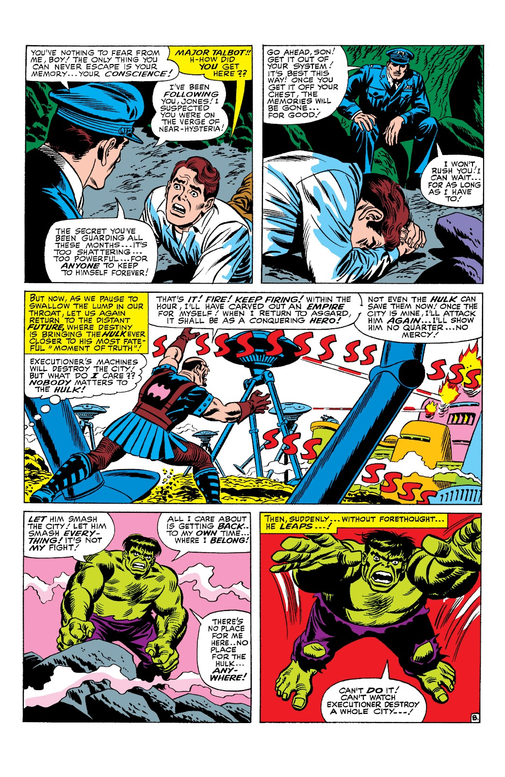 Read online Marvel Masterworks: The Incredible Hulk comic -  Issue # TPB 2 (Part 3) - 19